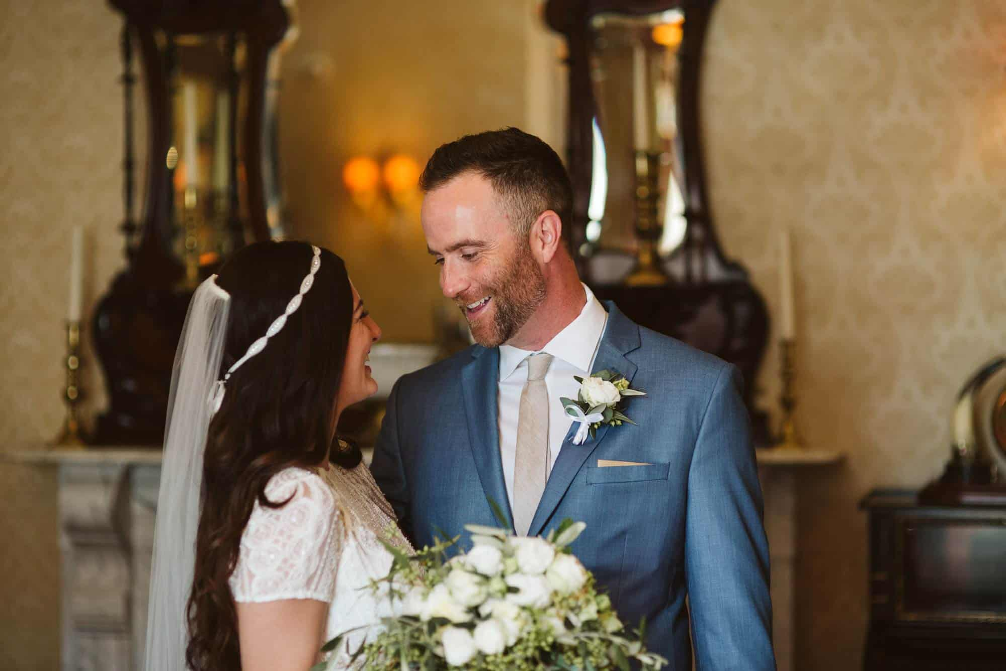 Elopement videographer Ireland, couple portrait
