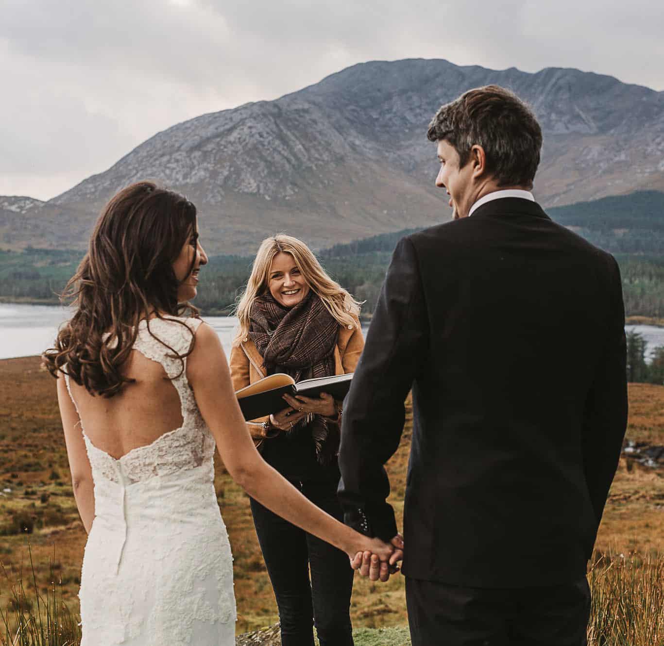 Twin Flames elopement & Celebrancy @ connemara Ireland. Shot by Tommy@weddingsbymoltensky.com. Elope in Ireland to enjoy the beauty of Connemara
