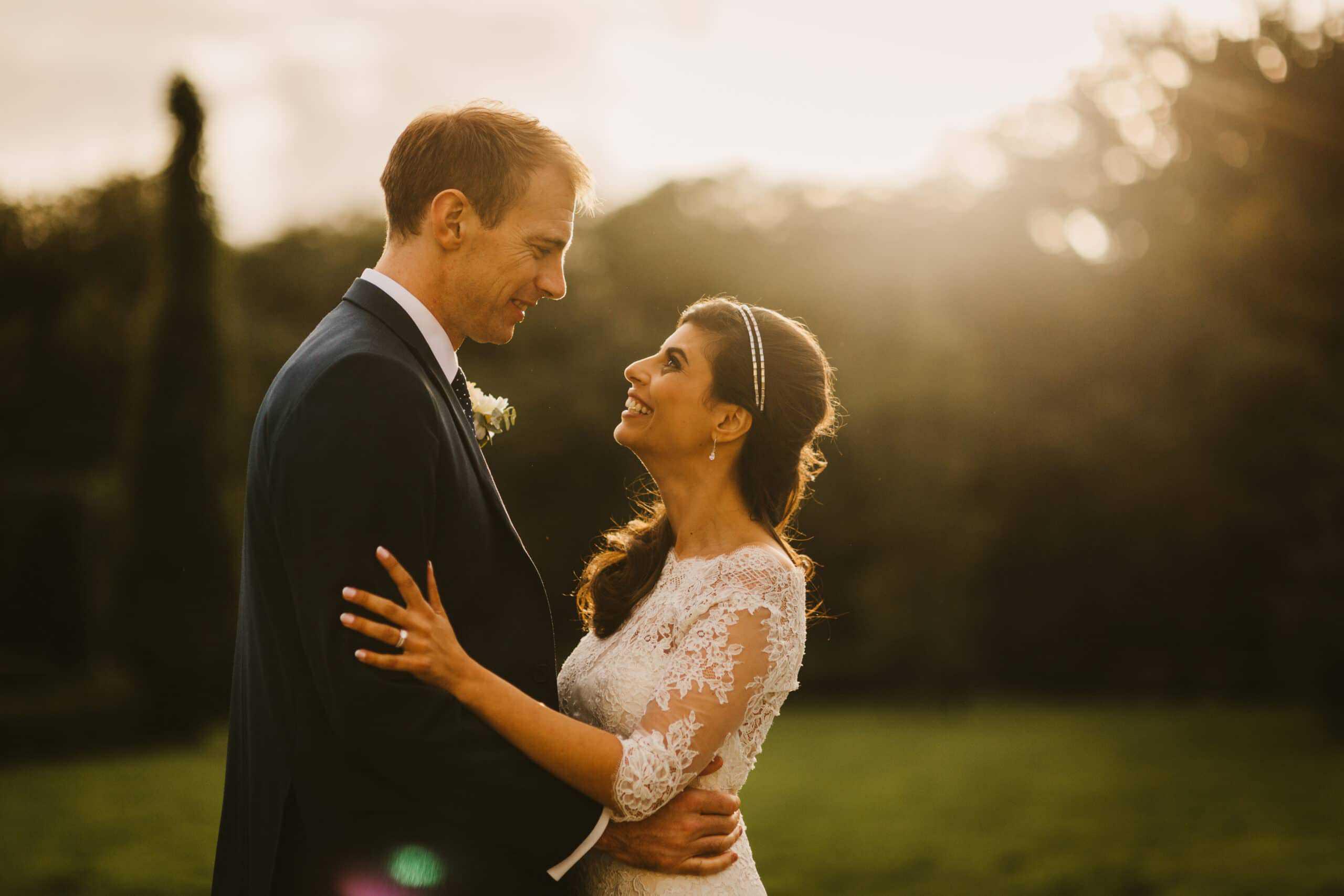 Castle Ireland Elopement Sunset Shoot after following Ireland marriage laws