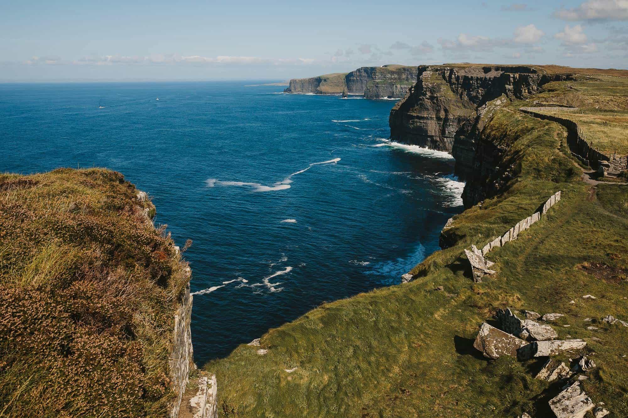 Cliffs of Moher Elopement Cliffs