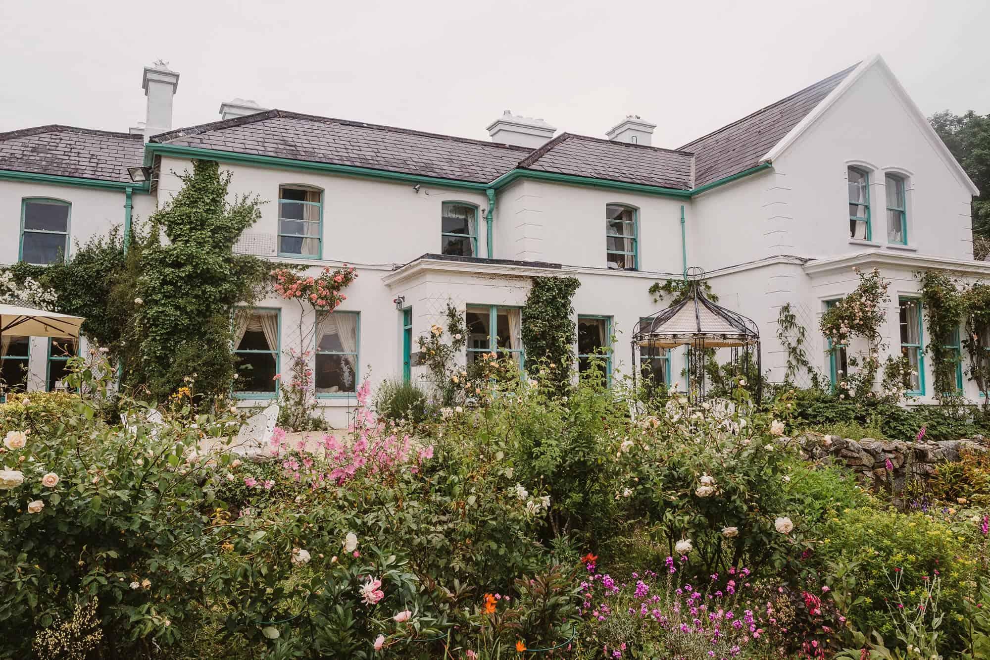 Elopement Ireland Connemara Cashel House Flowers