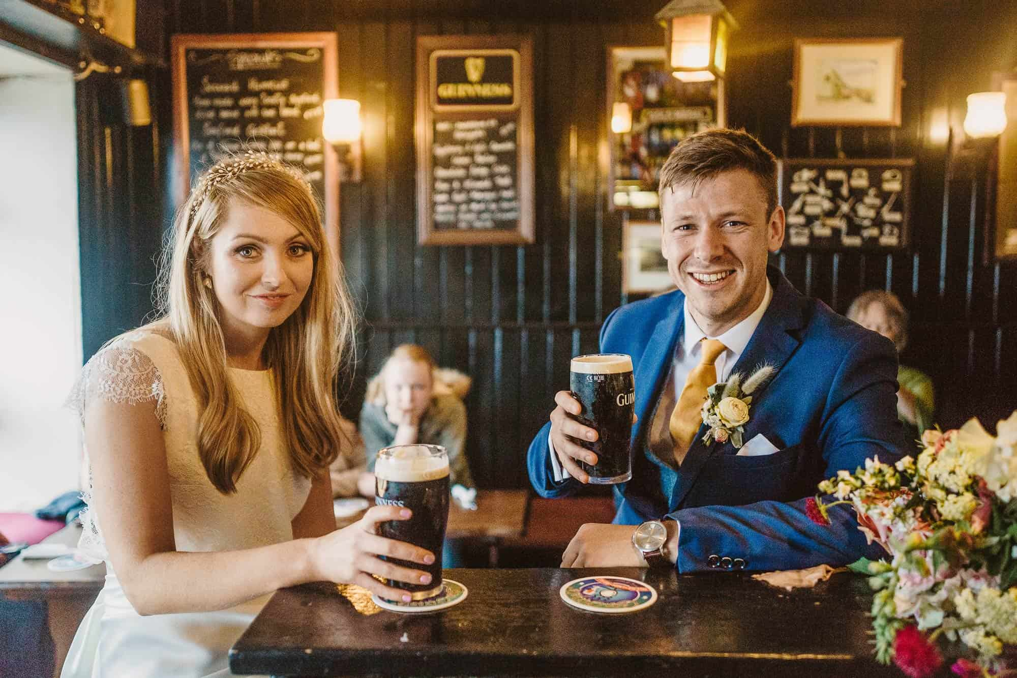 Elopement Ireland Connemara Guinness