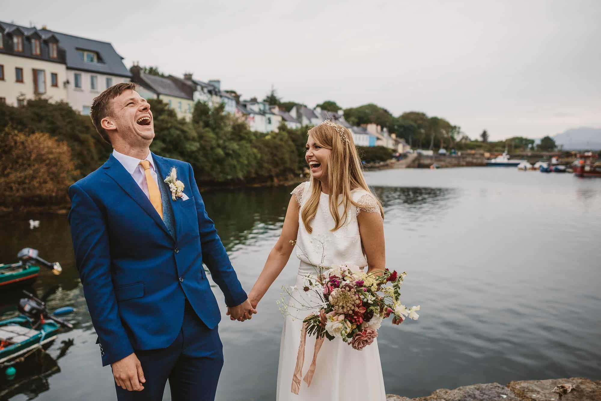 Elopement Ireland Connemara Laughter and Fun