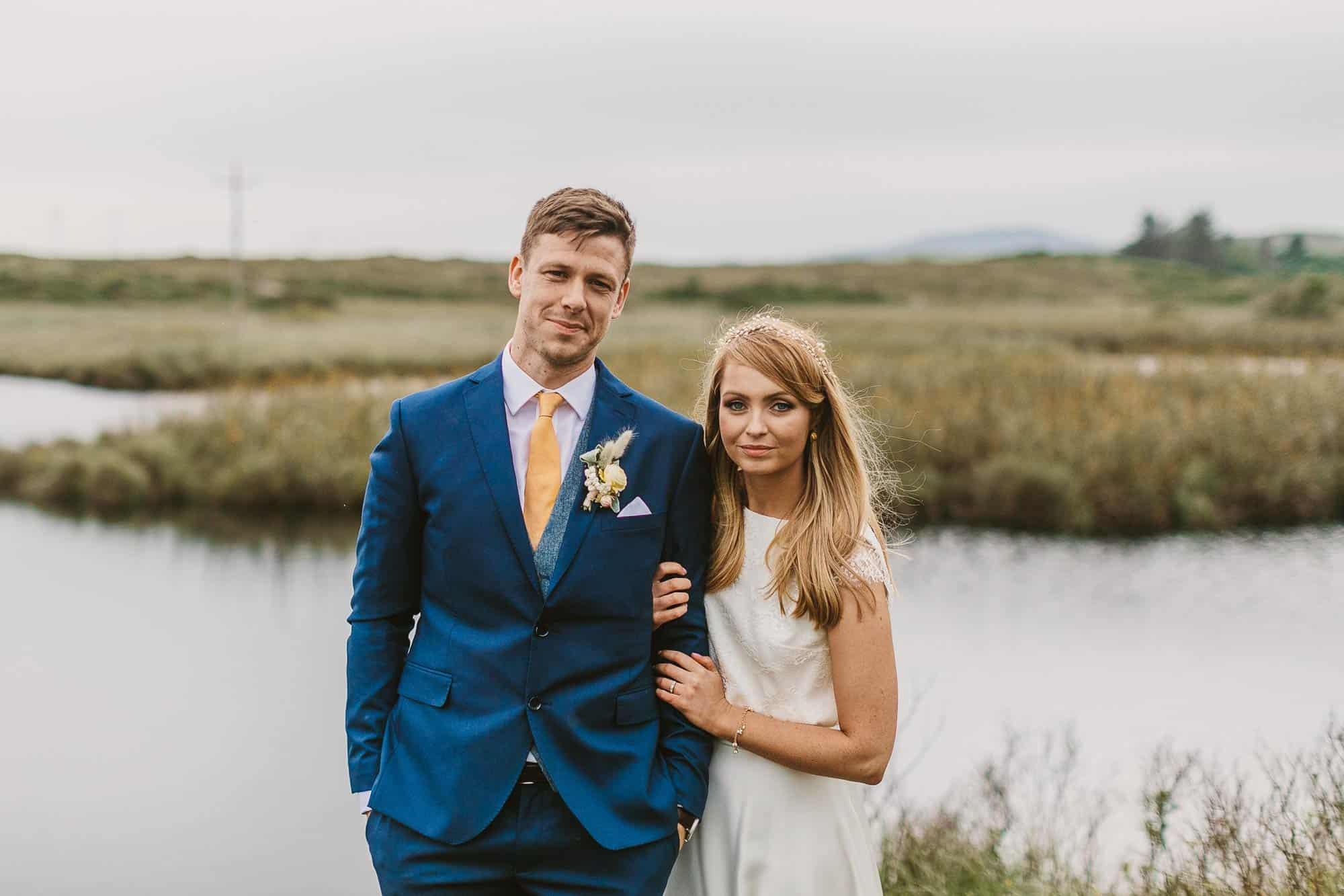 Elopement Ireland Connemara the couple Together