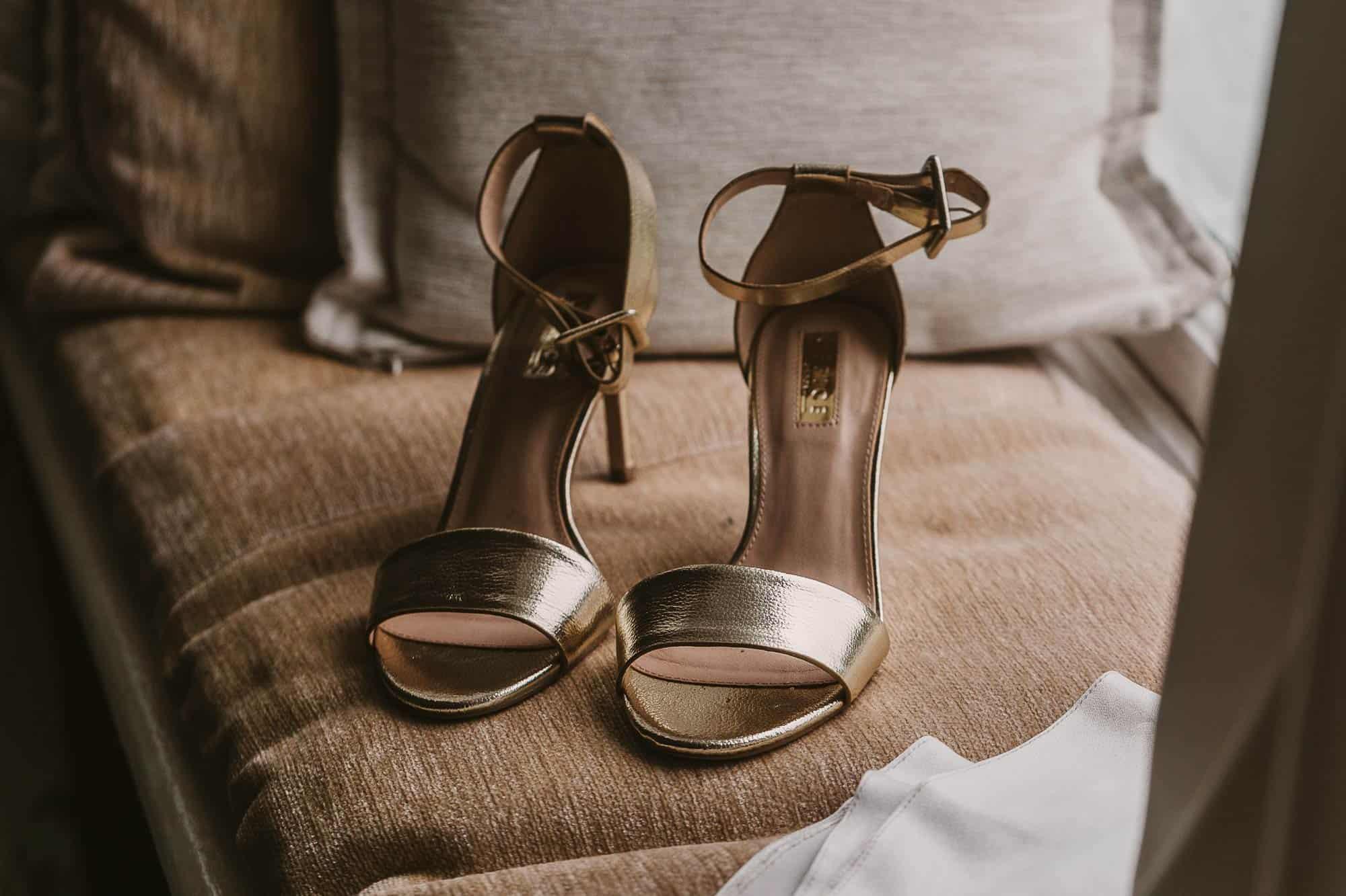 Elopement Ireland Connemara Wedding Shoes