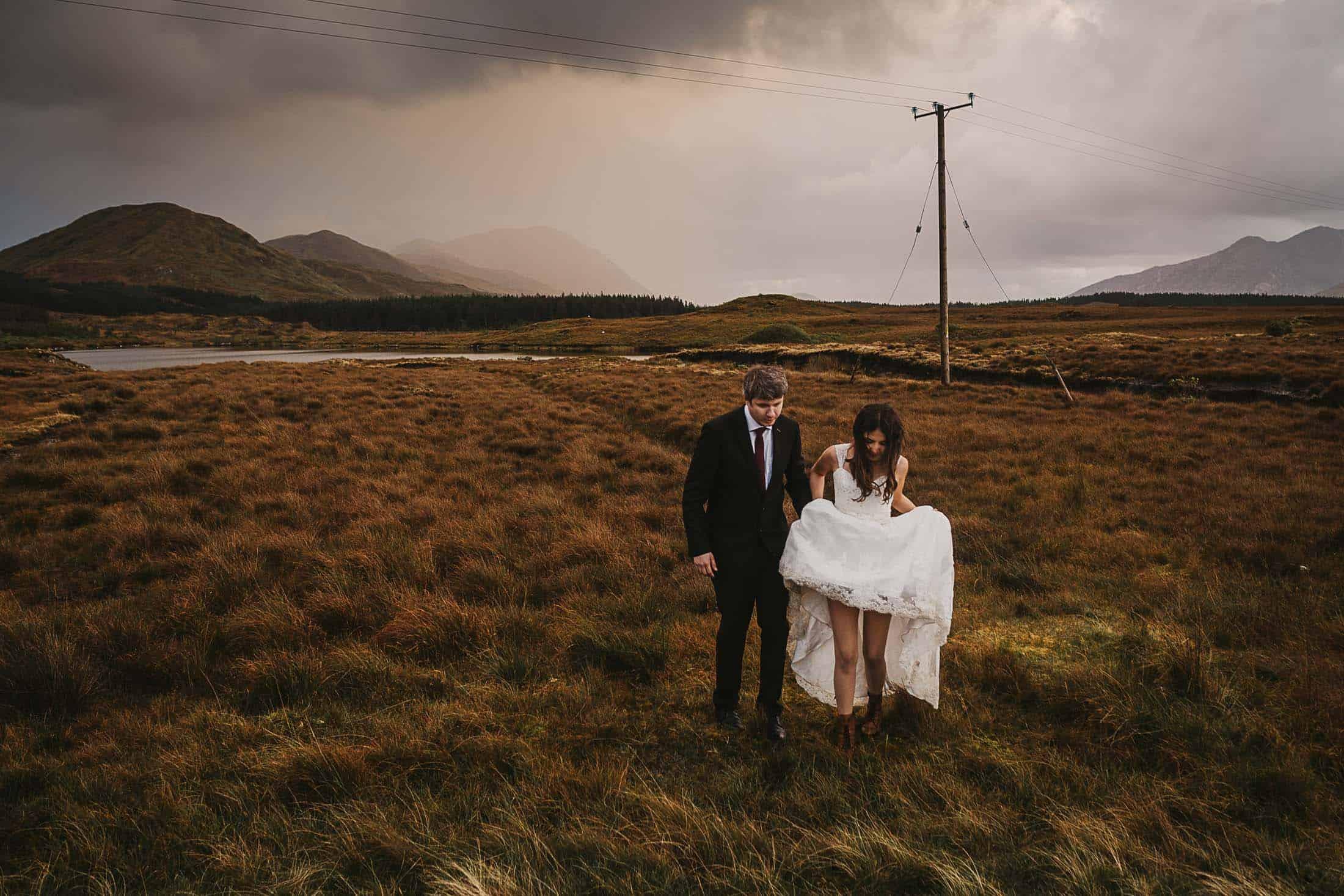Destination Weddings Ireland Connemara Adventure Bride