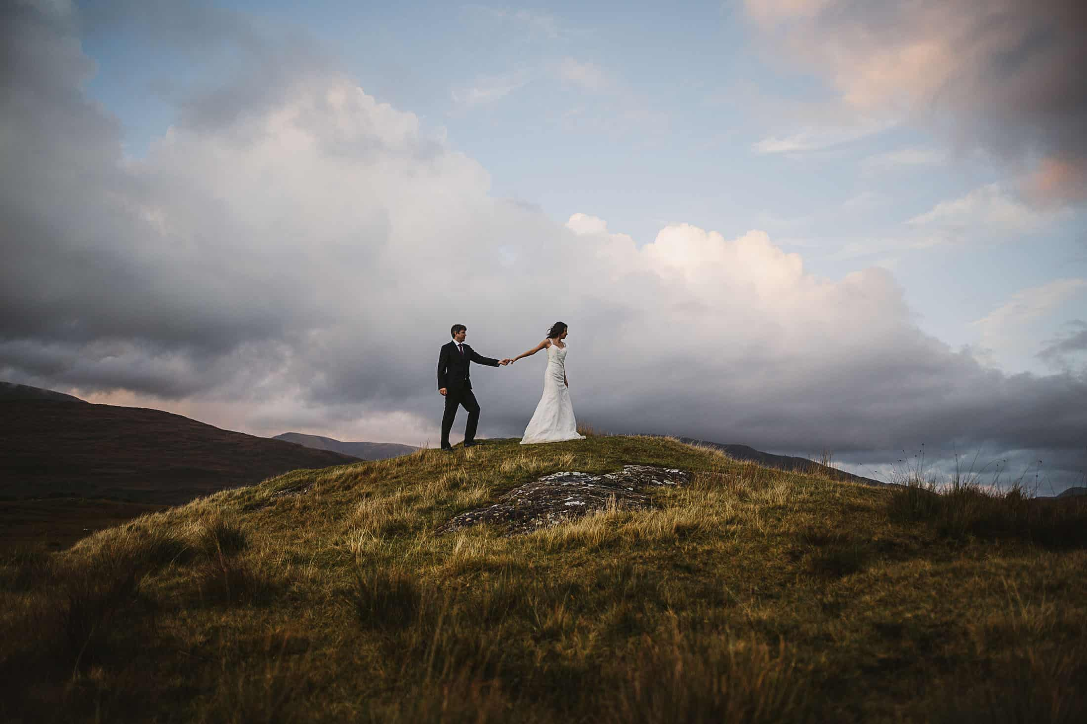 Destination Weddings Ireland Connemara Adventure Couple