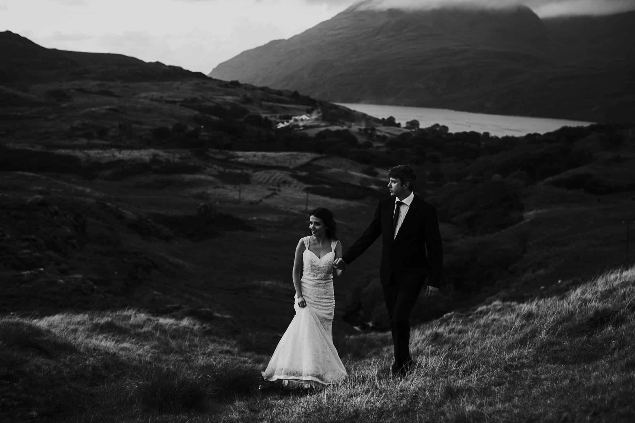 Destination Weddings Ireland Connemara Adventure Hike