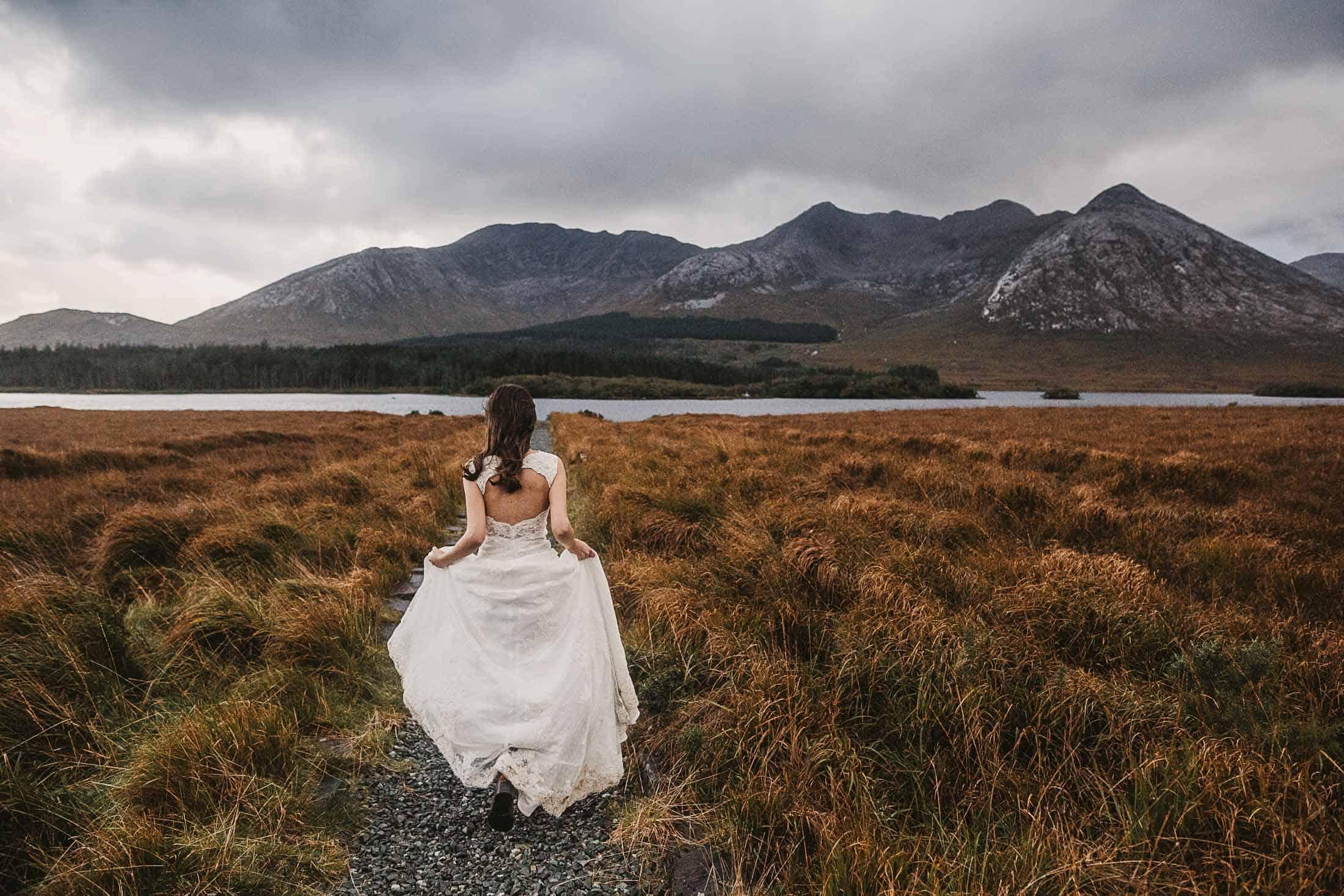 Destination Weddings Ireland Connemara Dirty Boots Boho Bride