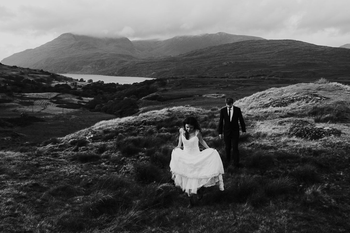 Destination Weddings Ireland Connemara Hiking Adventure
