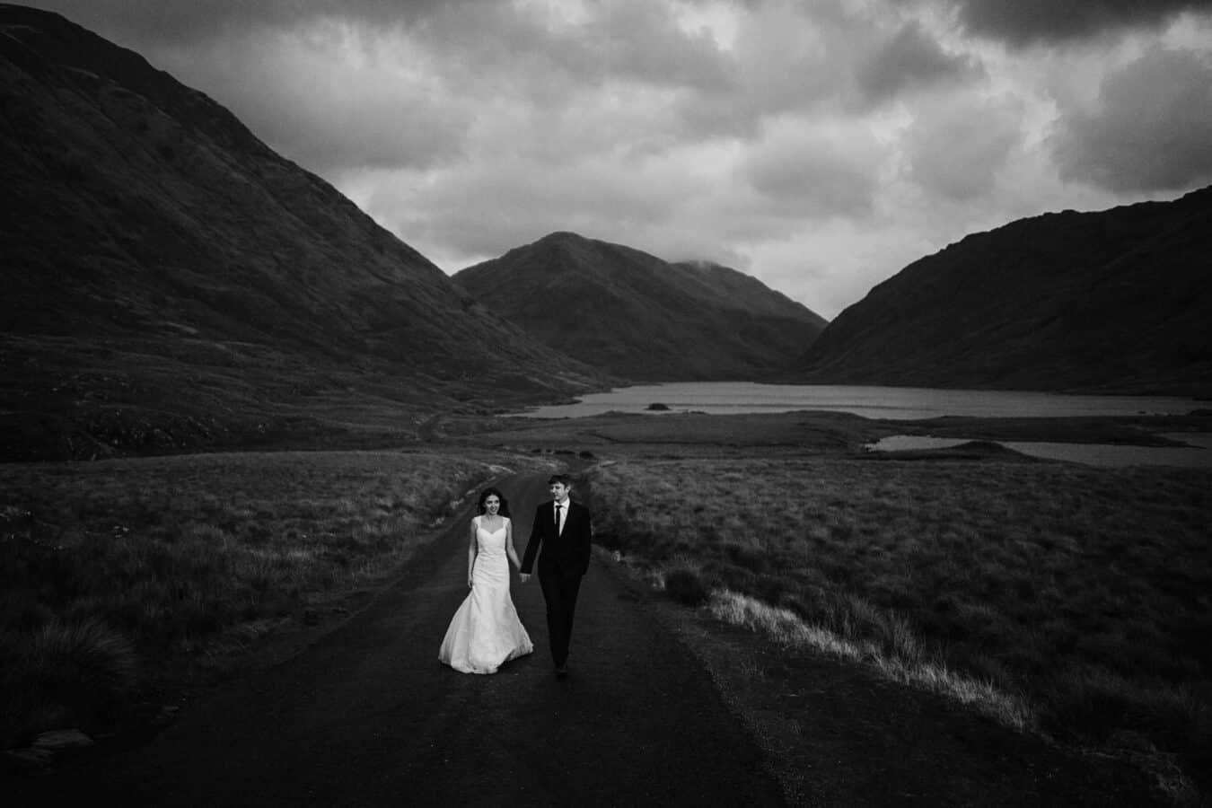 Destination Weddings Ireland Connemara Inagh Valley