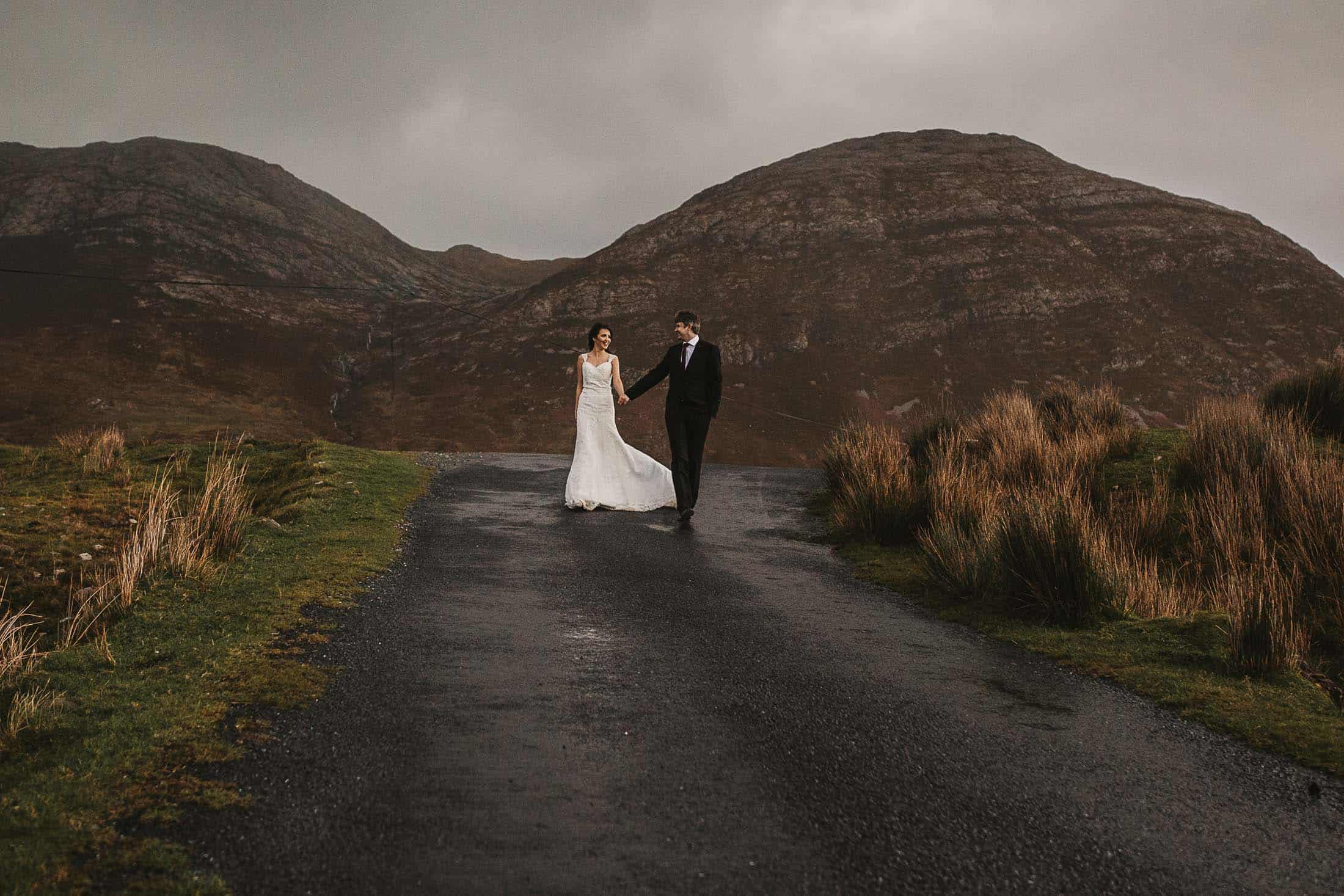 Destination Weddings Ireland Connemara Lane