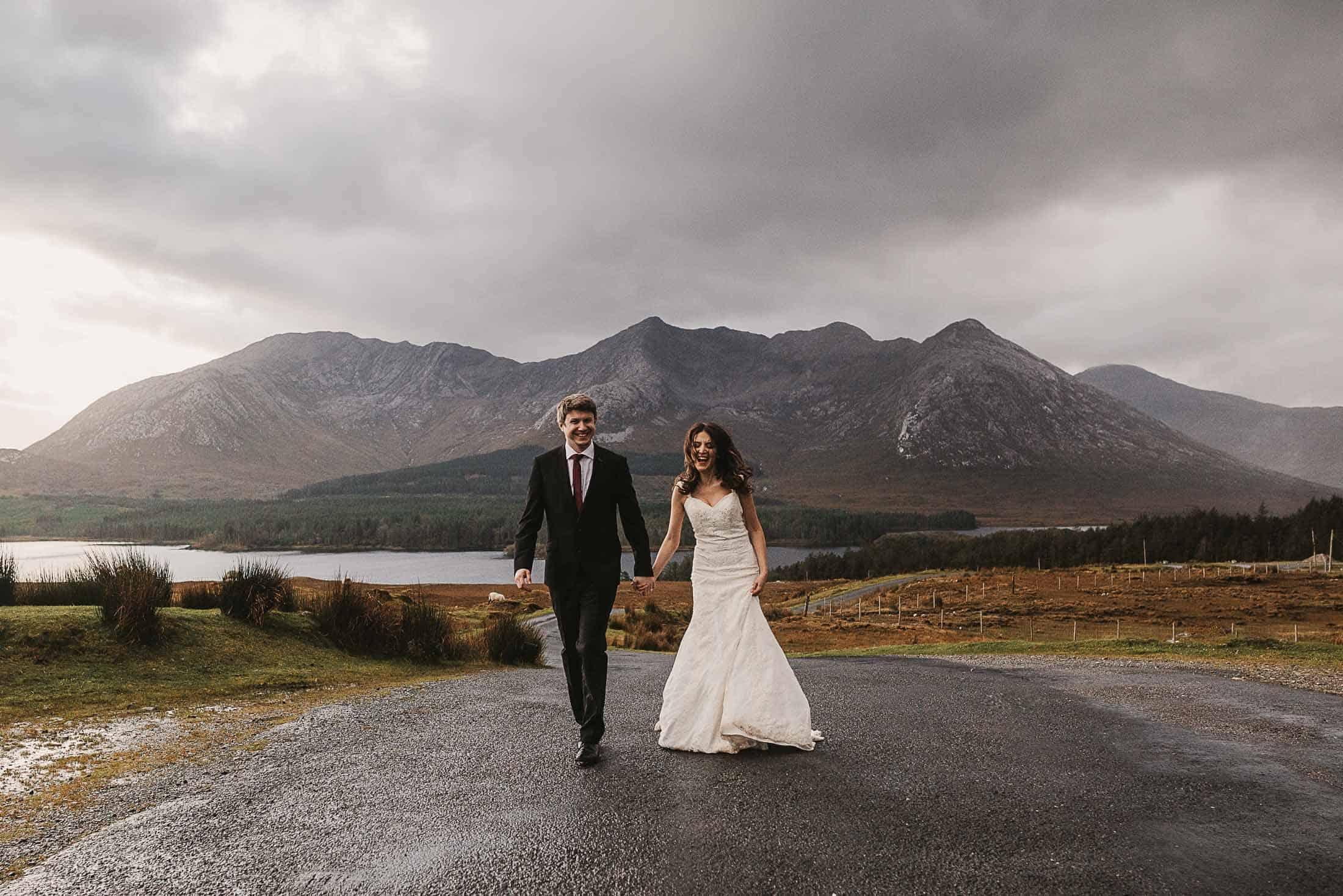 Destination Weddings Ireland Connemara Laughter