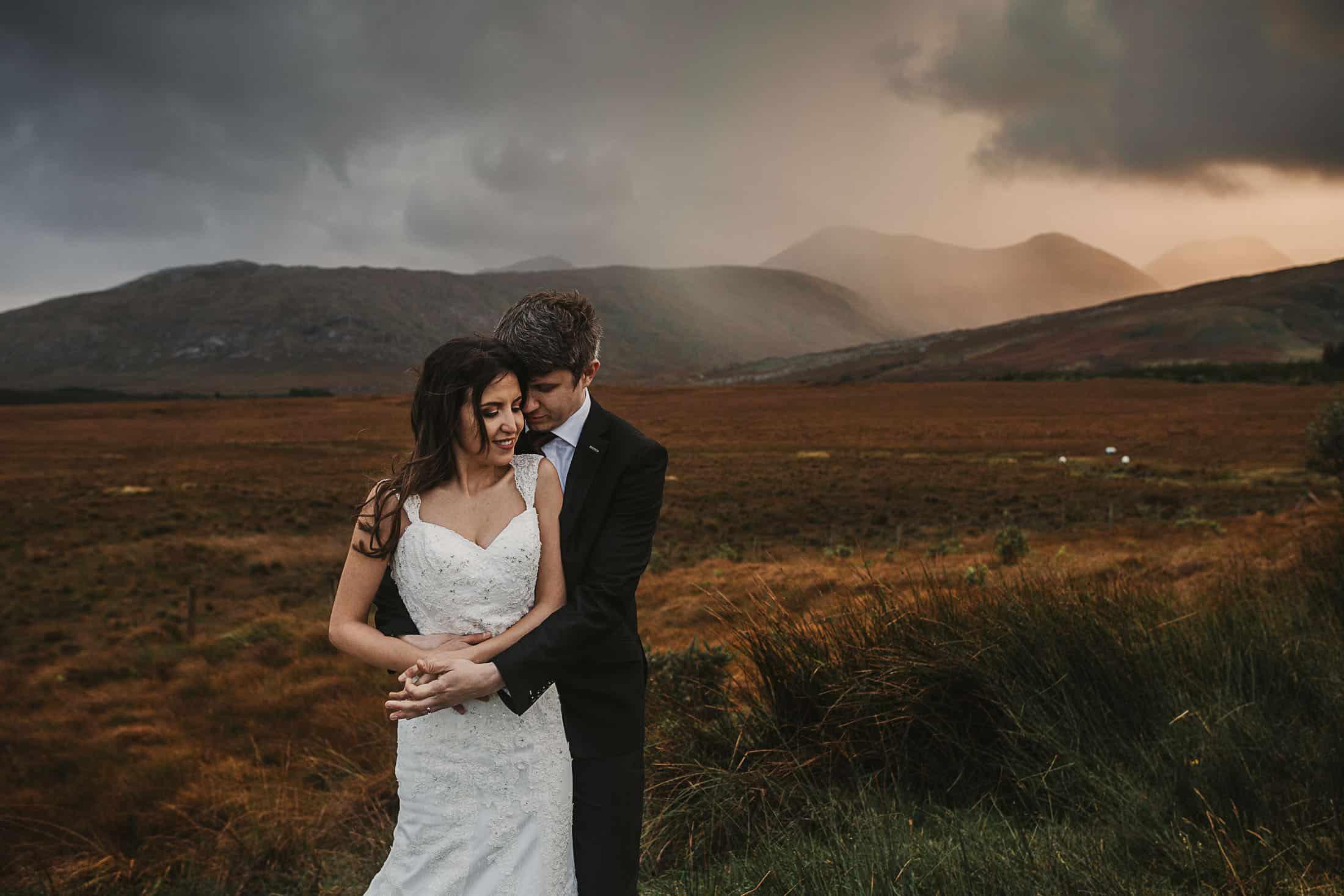 Destination Weddings Ireland Connemara Moody Skies