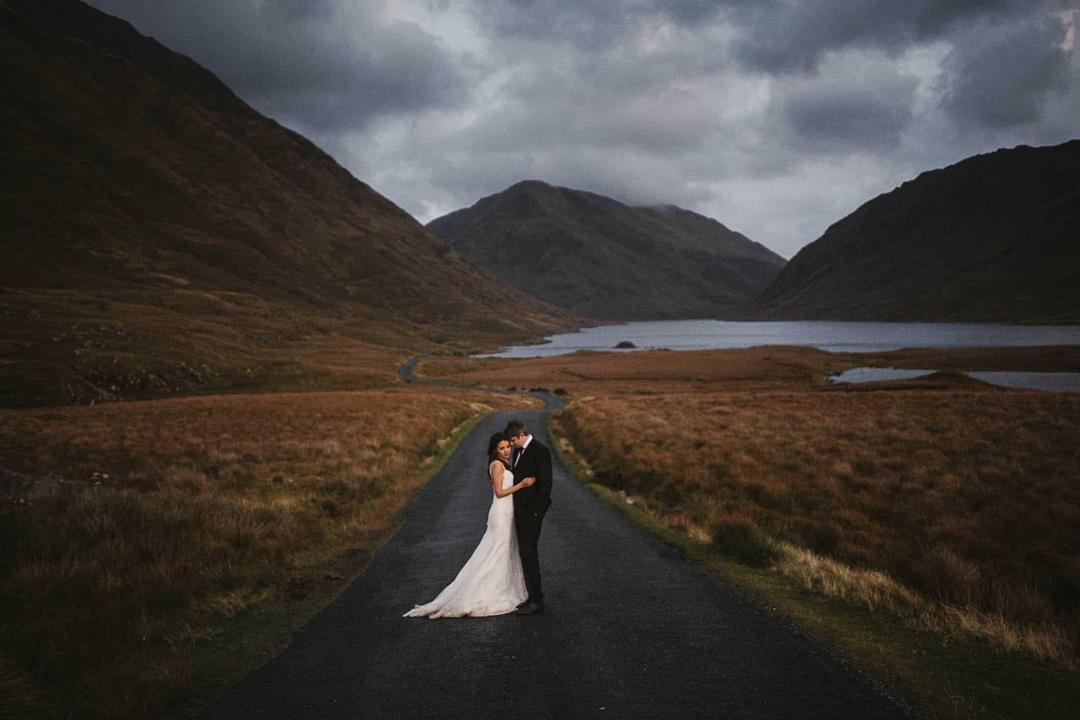 Destination Weddings Ireland Connemara Mountains and Lakes