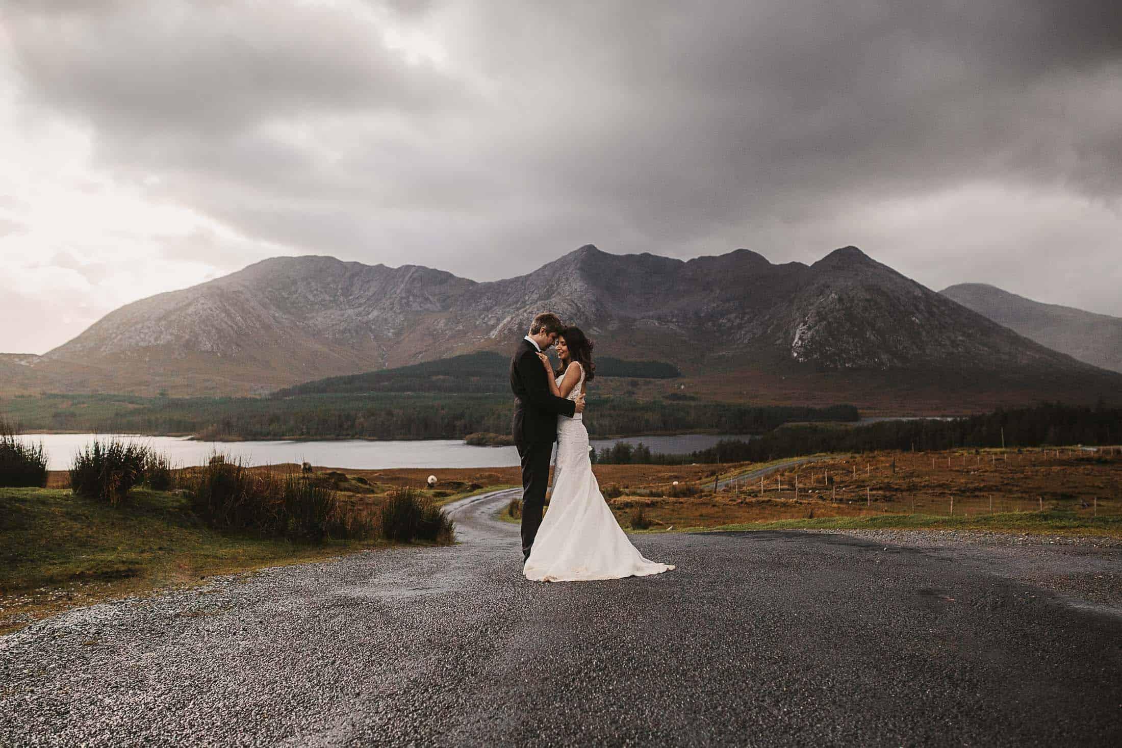 Destination Weddings Ireland Connemara Mountains