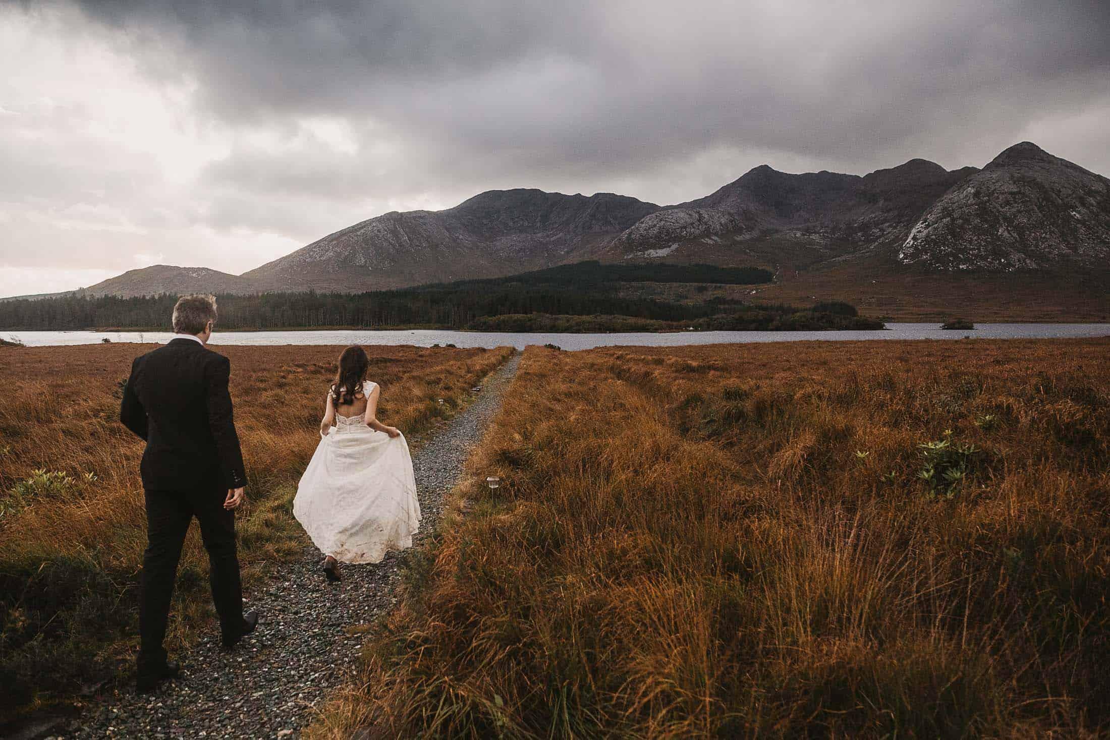 Destination Weddings Ireland Connemara Nature Bride