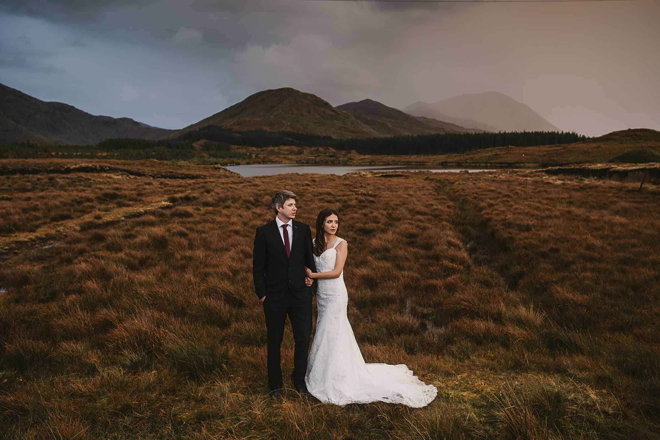 Destination Weddings Ireland Connemara Rustic Tones