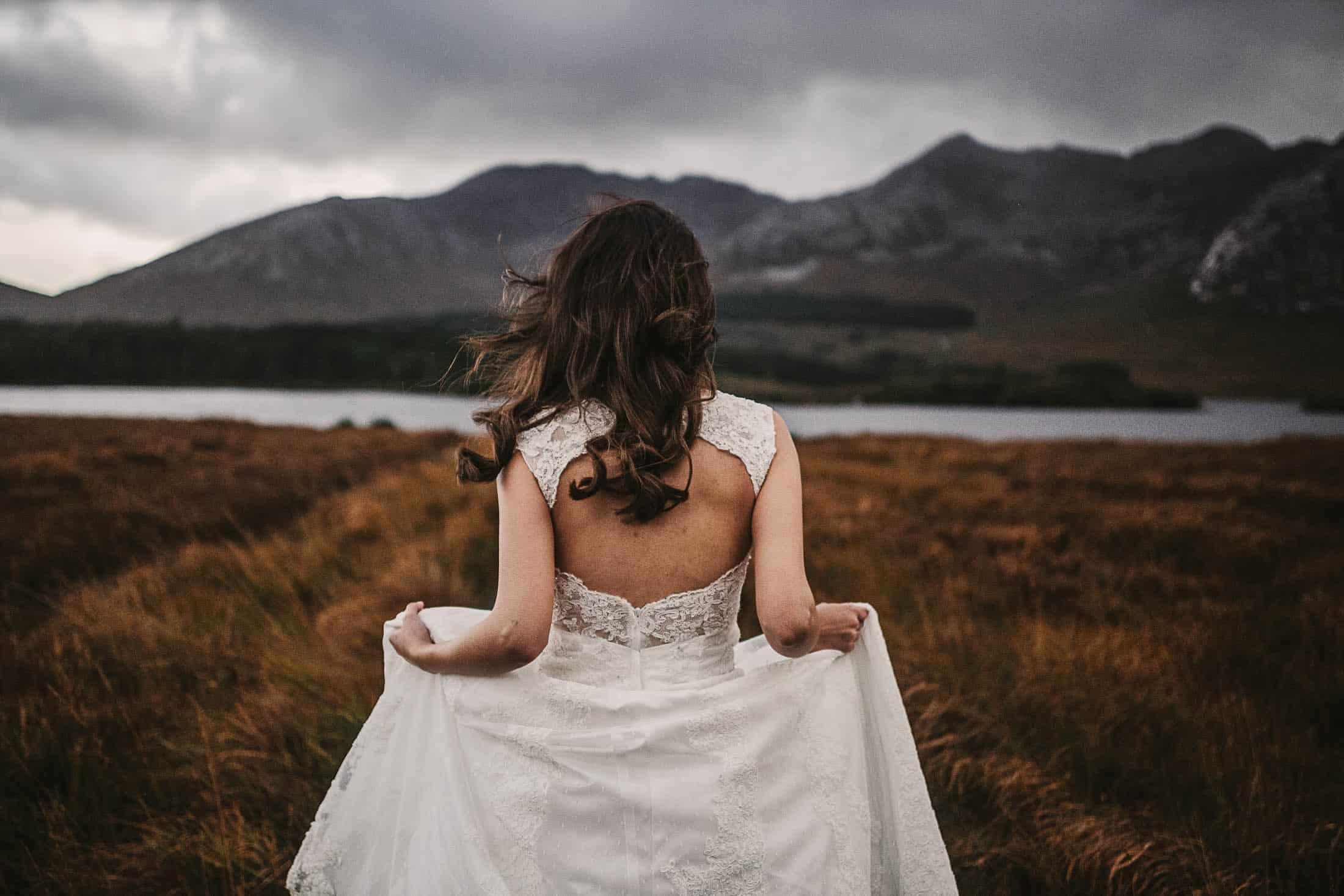 Elope to Ireland Connemara Vintage Dress-wedding-dress