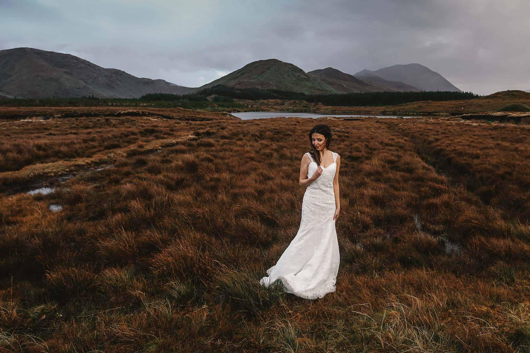 Destination Weddings Ireland Connemara Vintage Dress