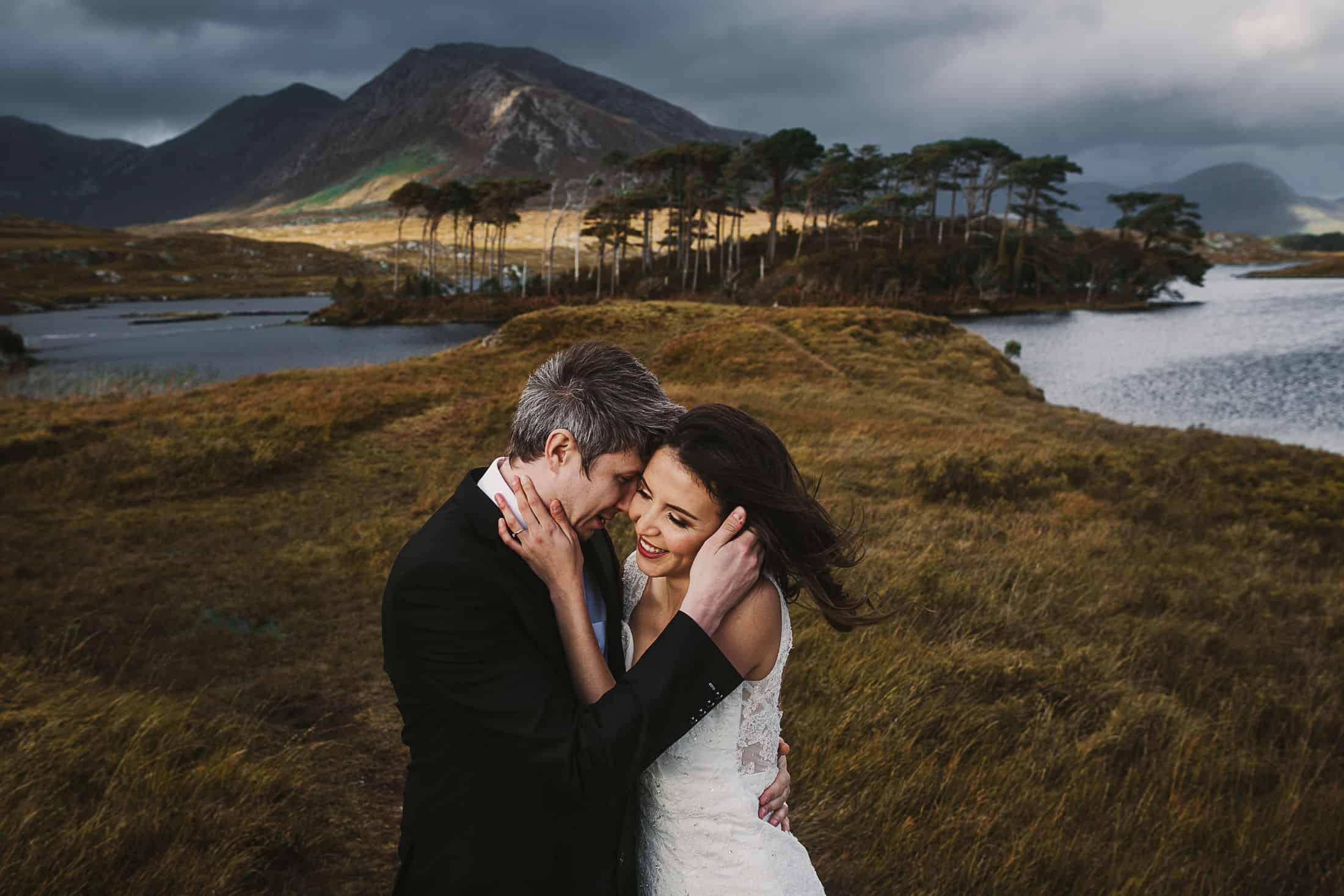 Destination Weddings Ireland Connemara Wind