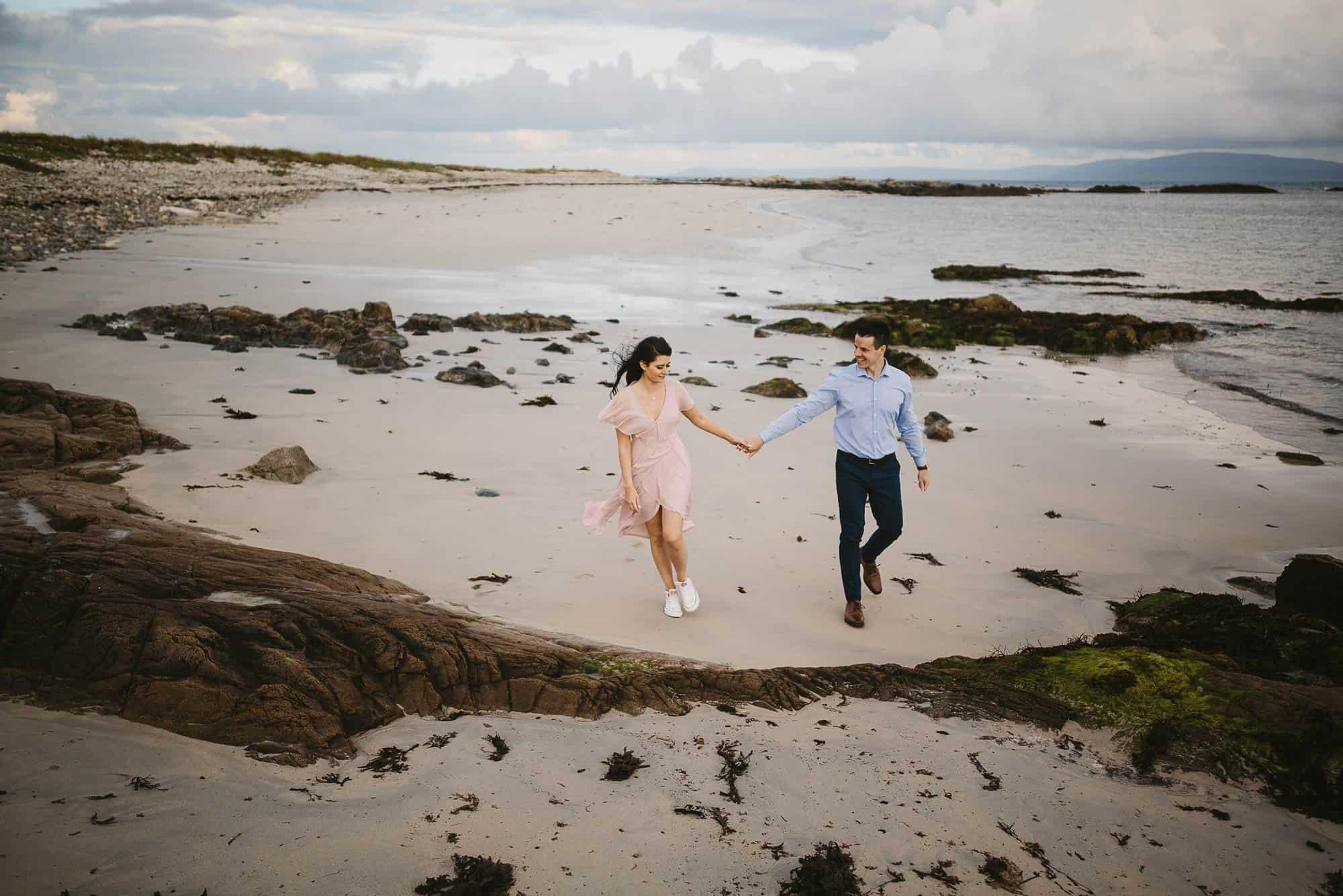 Elopement Photography Ireland Beach
