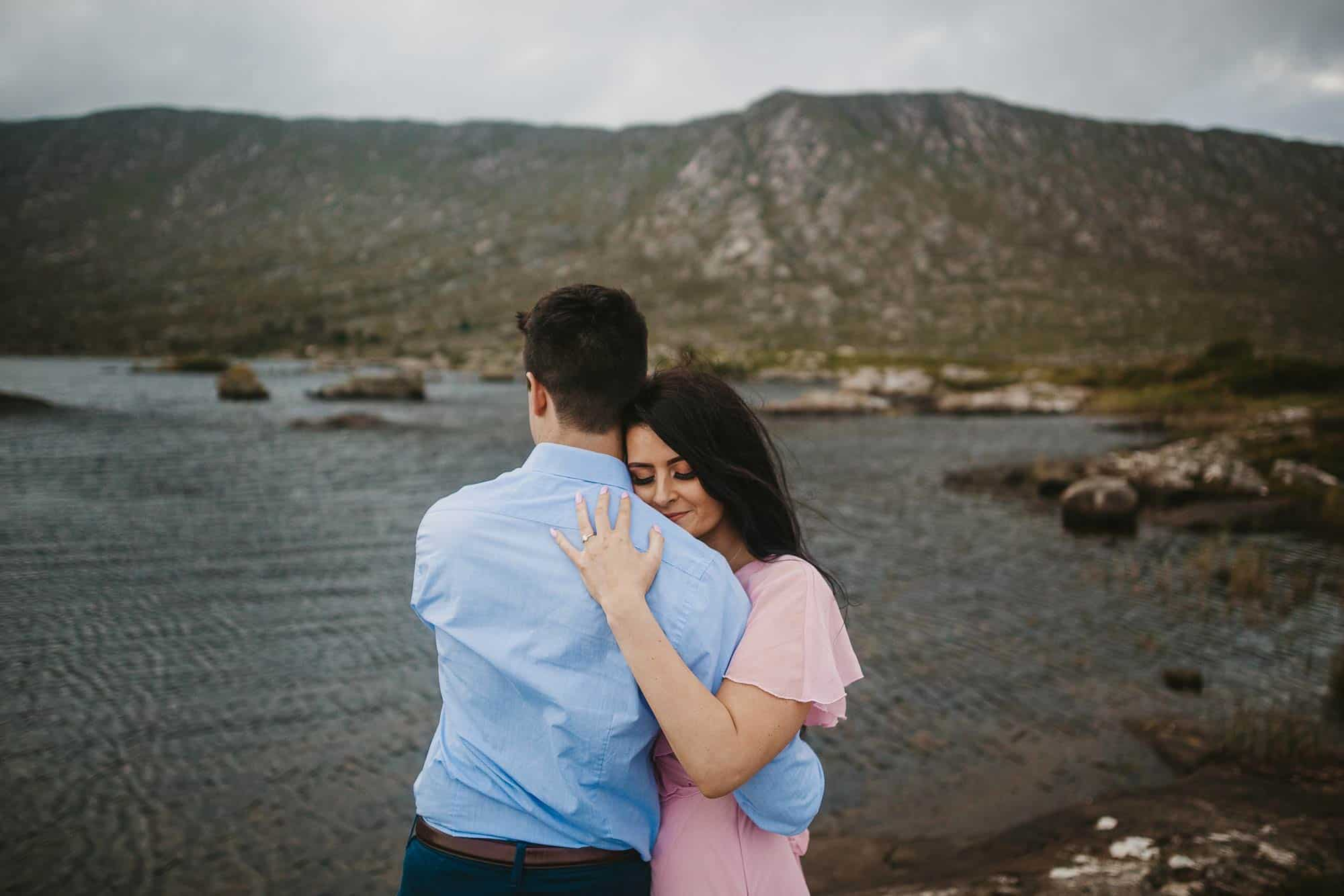 Elopement Photography Ireland Engagement Ring