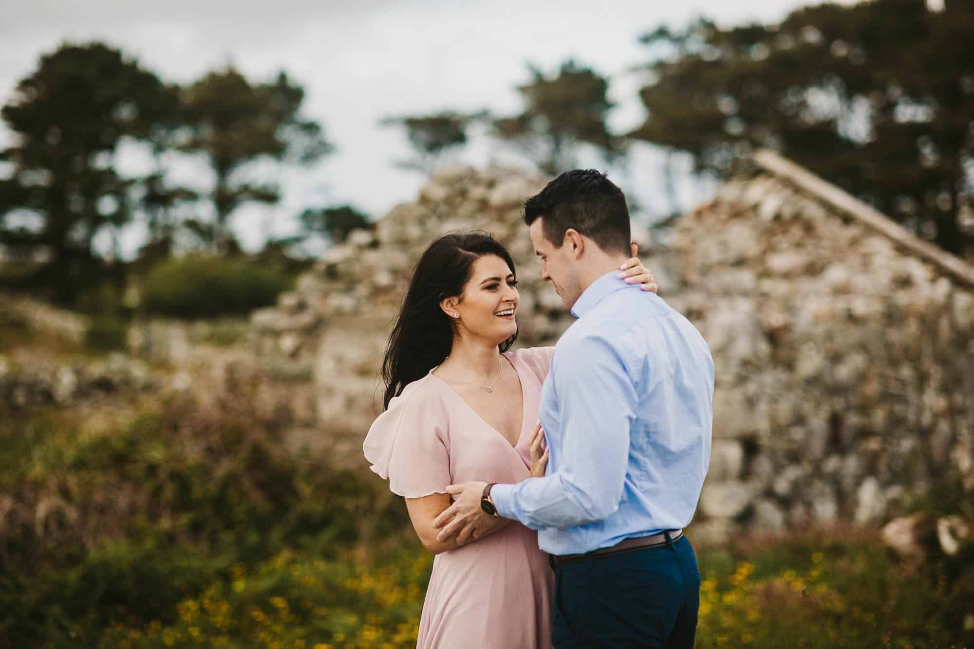 Elopement Photography Ireland Pink Dress
