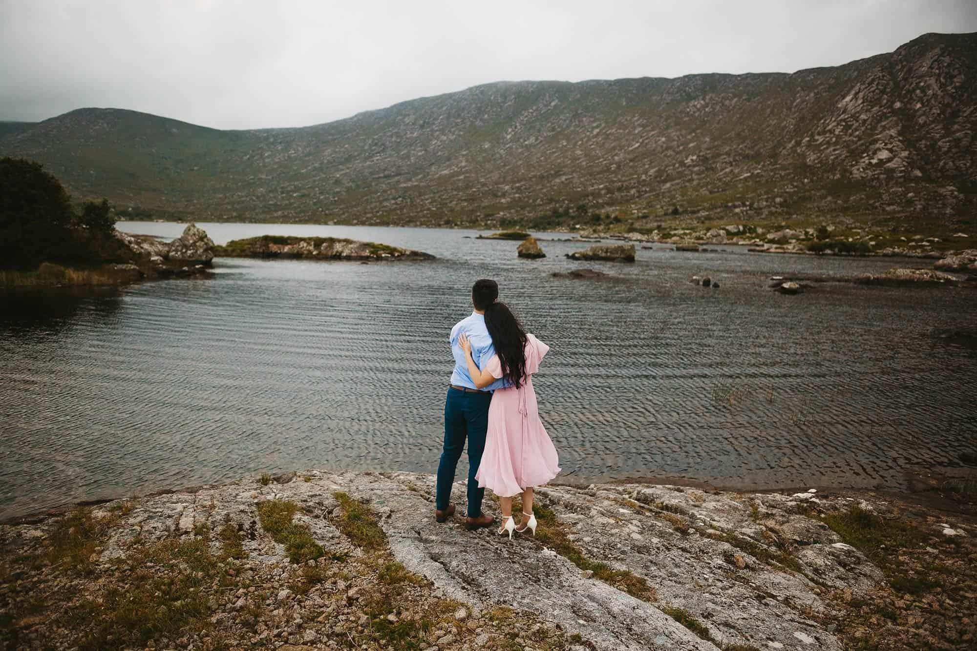 Elopement Photography Ireland Rocks