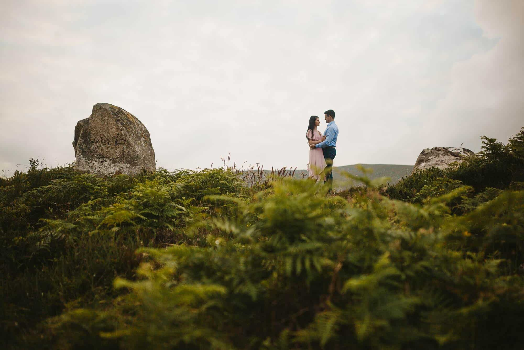 Elopement Photography Ireland Trekking