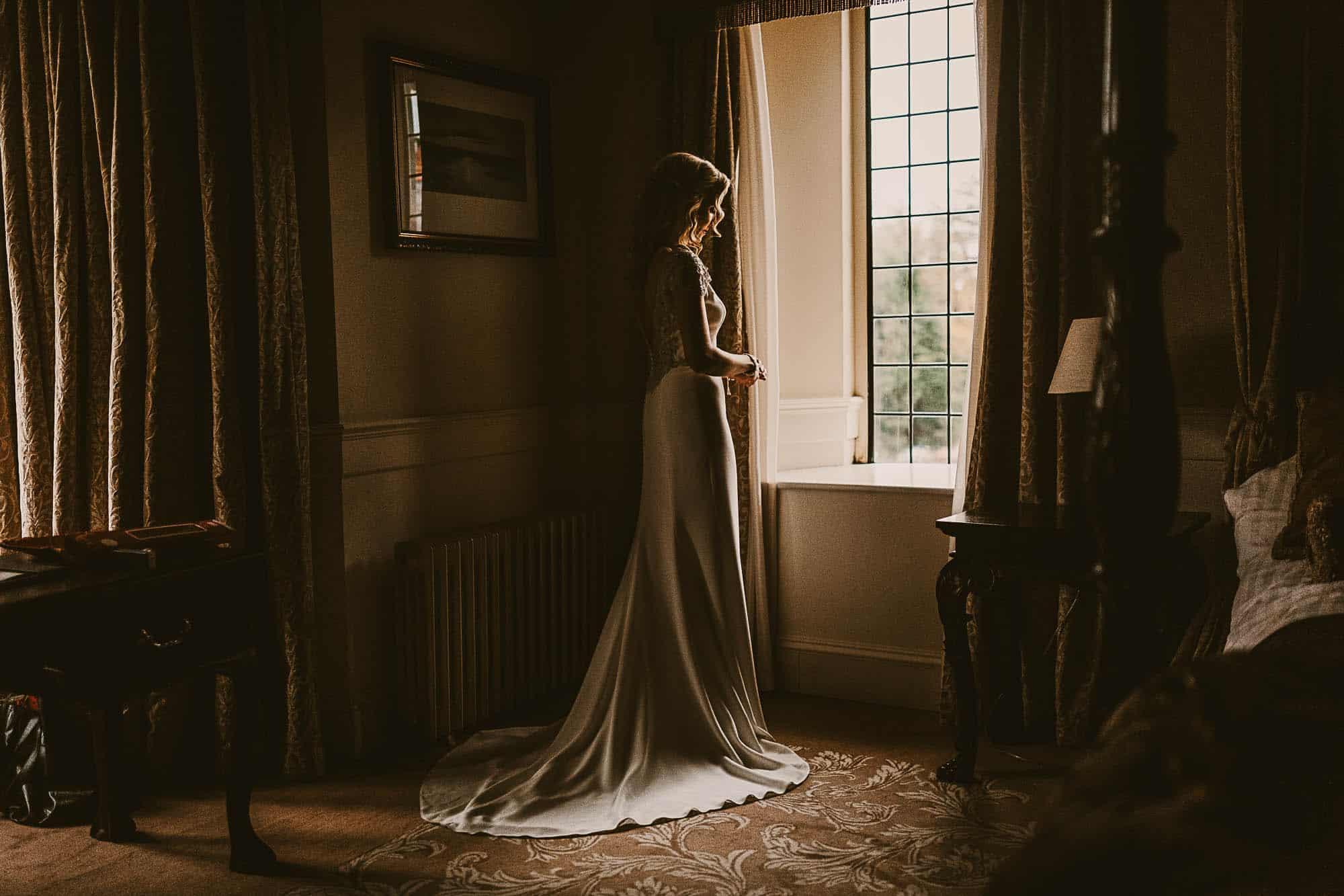 Elopement Planner Ireland grey wedding dress