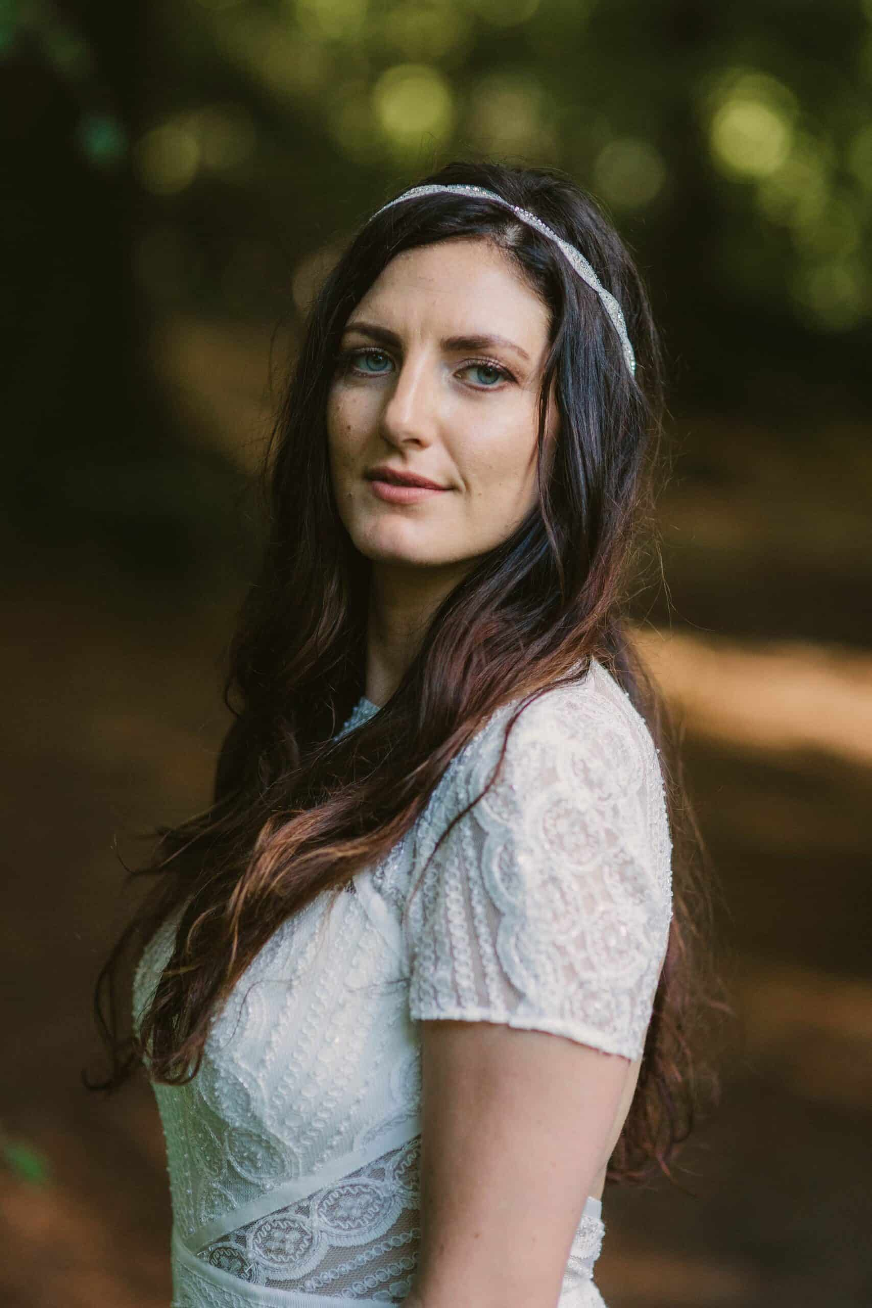 Elopement videographer Ireland, outdoor bride