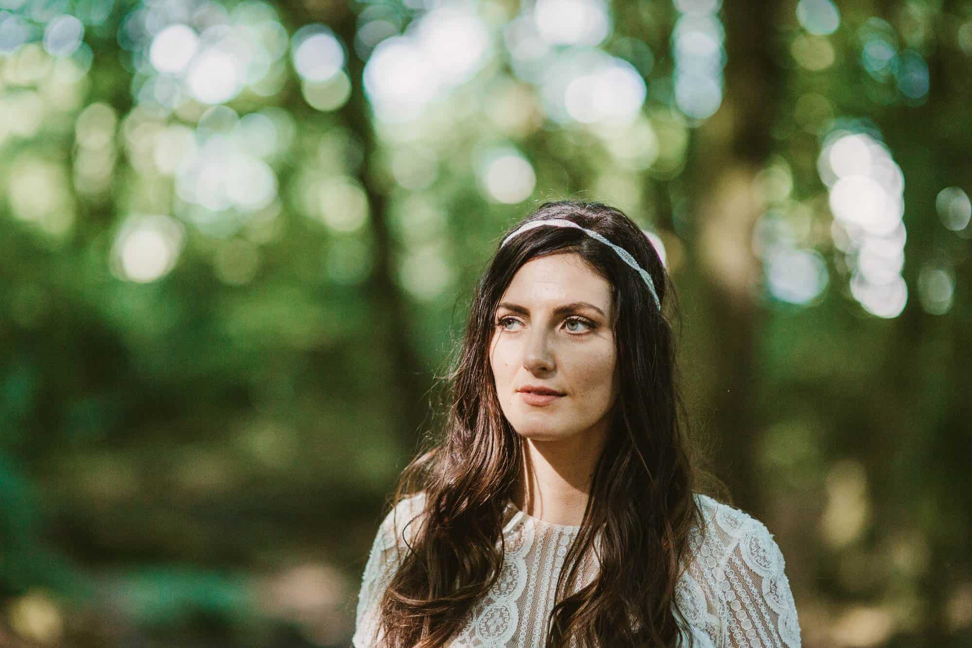 Elopement videographer Ireland, boho bride