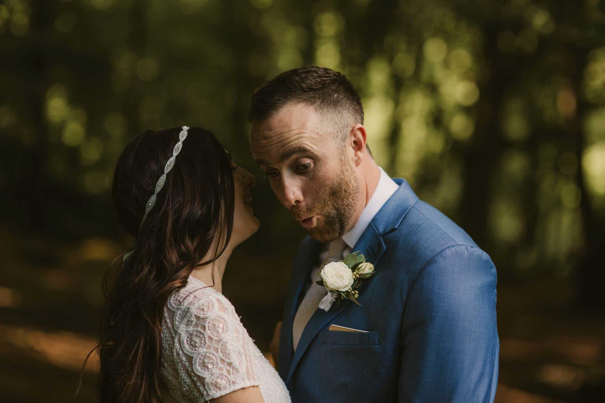Elopement videographer Ireland, telling secrets