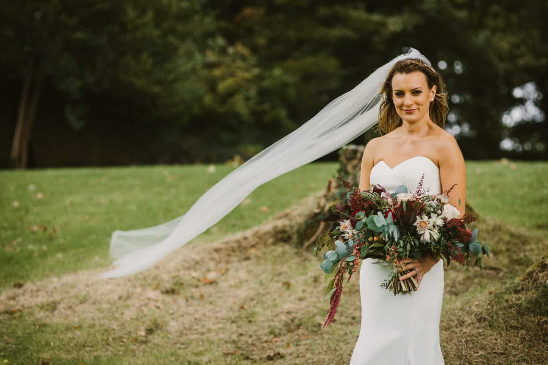 Ireland Castle Elopement Bridal Veil