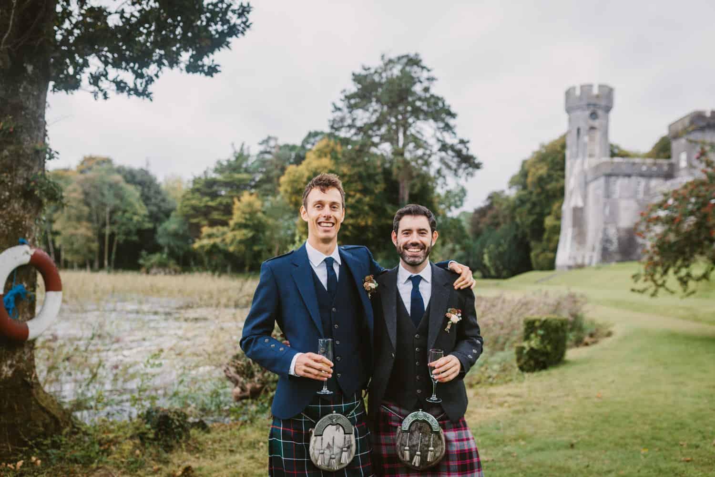 Irish Castle Elopement Brothers
