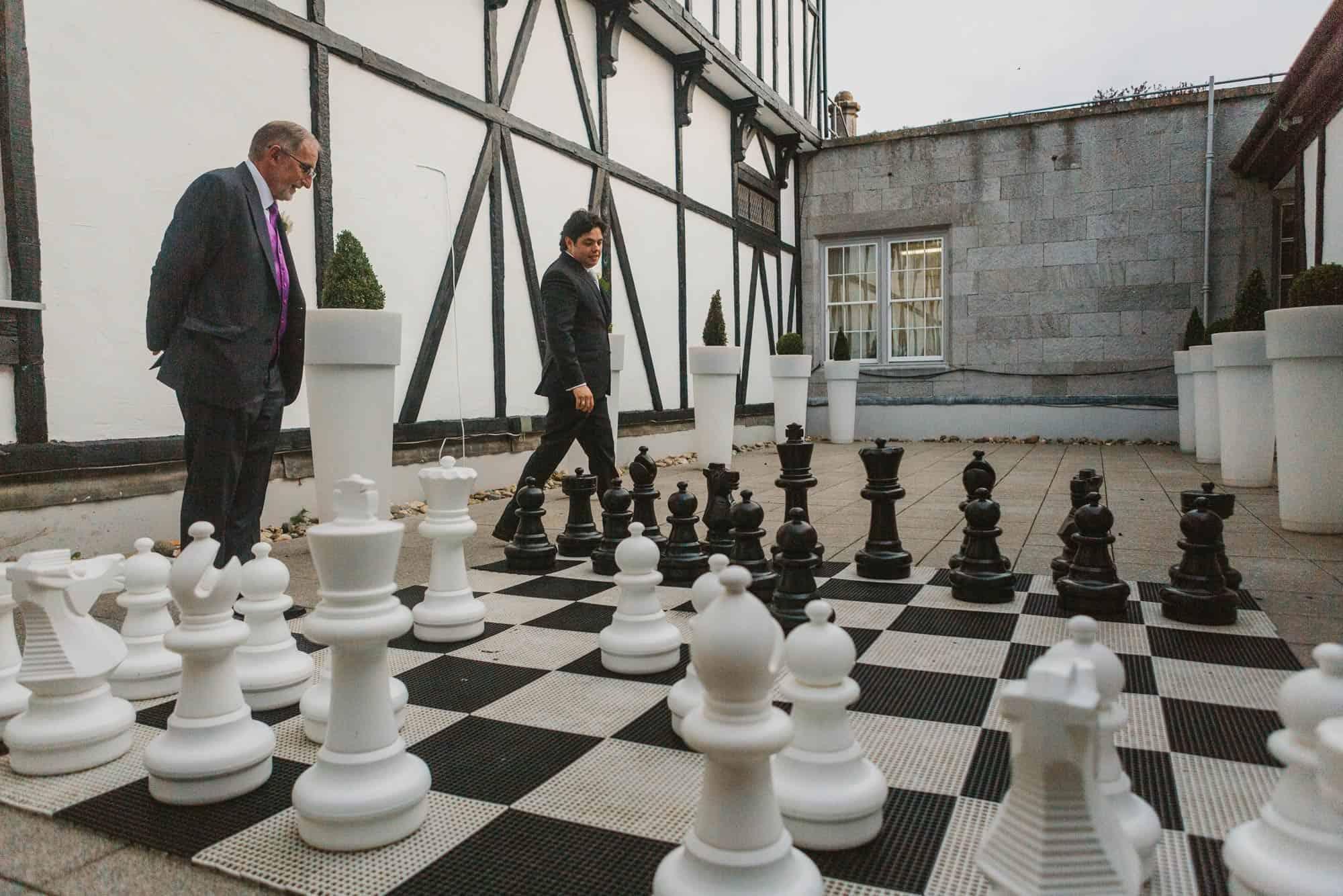 chess in Dromoland Castle Ireland