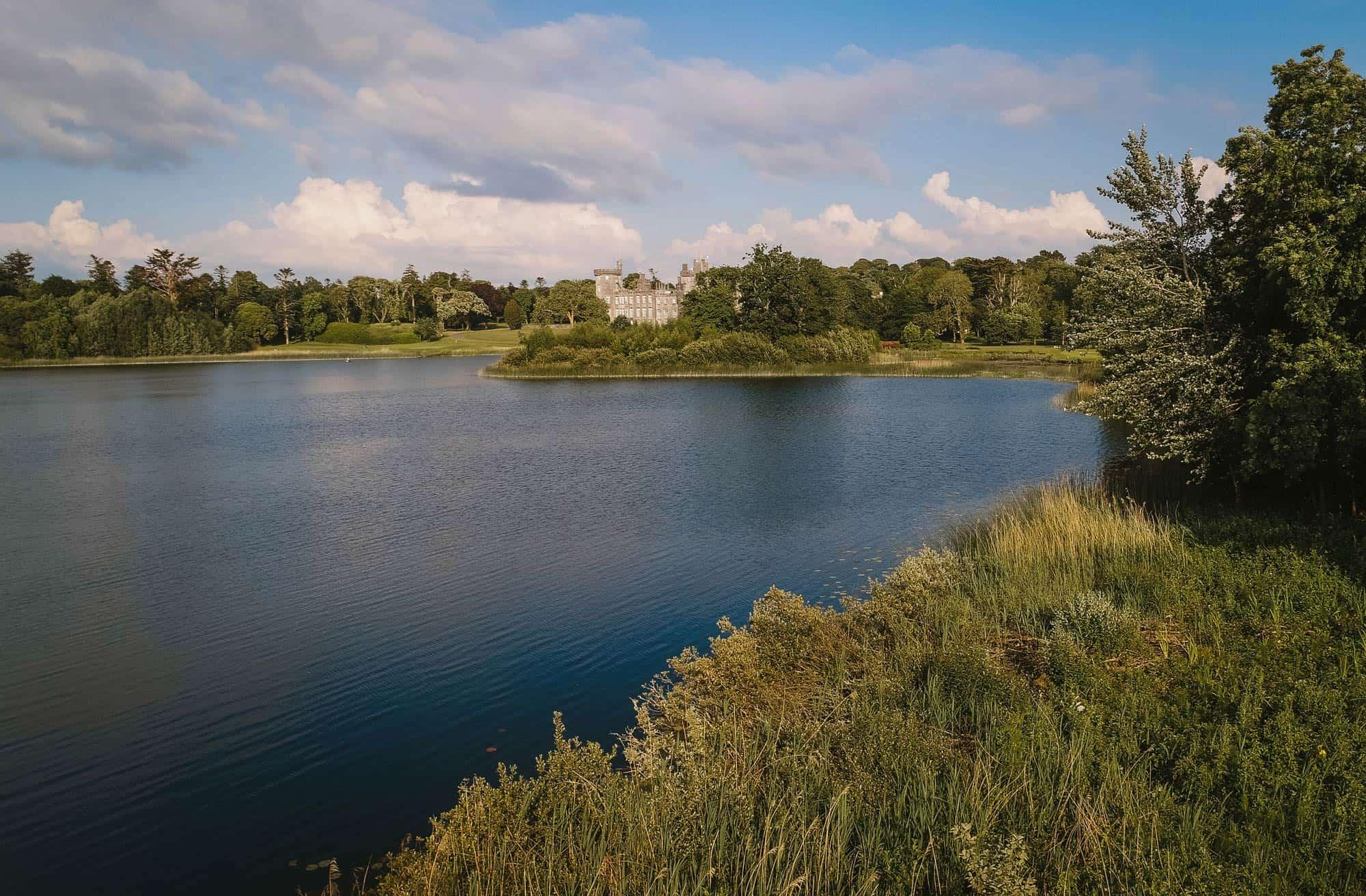 Dromoland Castle Ireland, lake