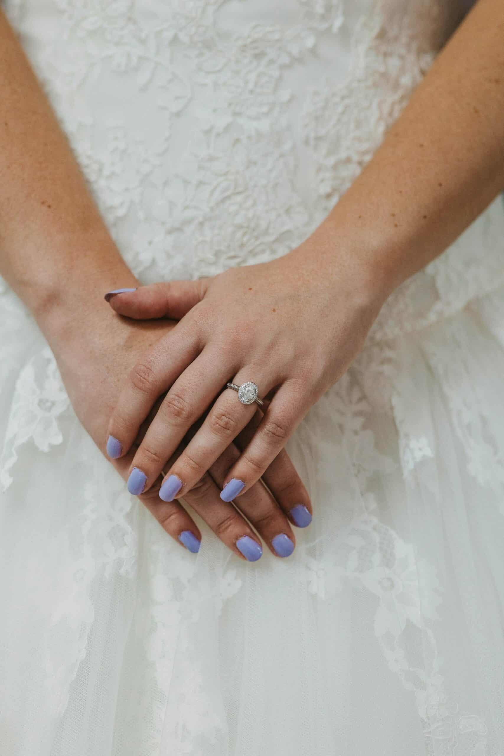 Dromoland Castle Ireland, vintage engagement ring
