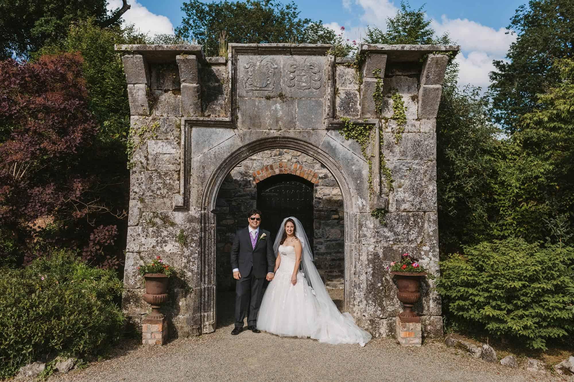 ruins on castle grounds, Dromoland Castle Ireland