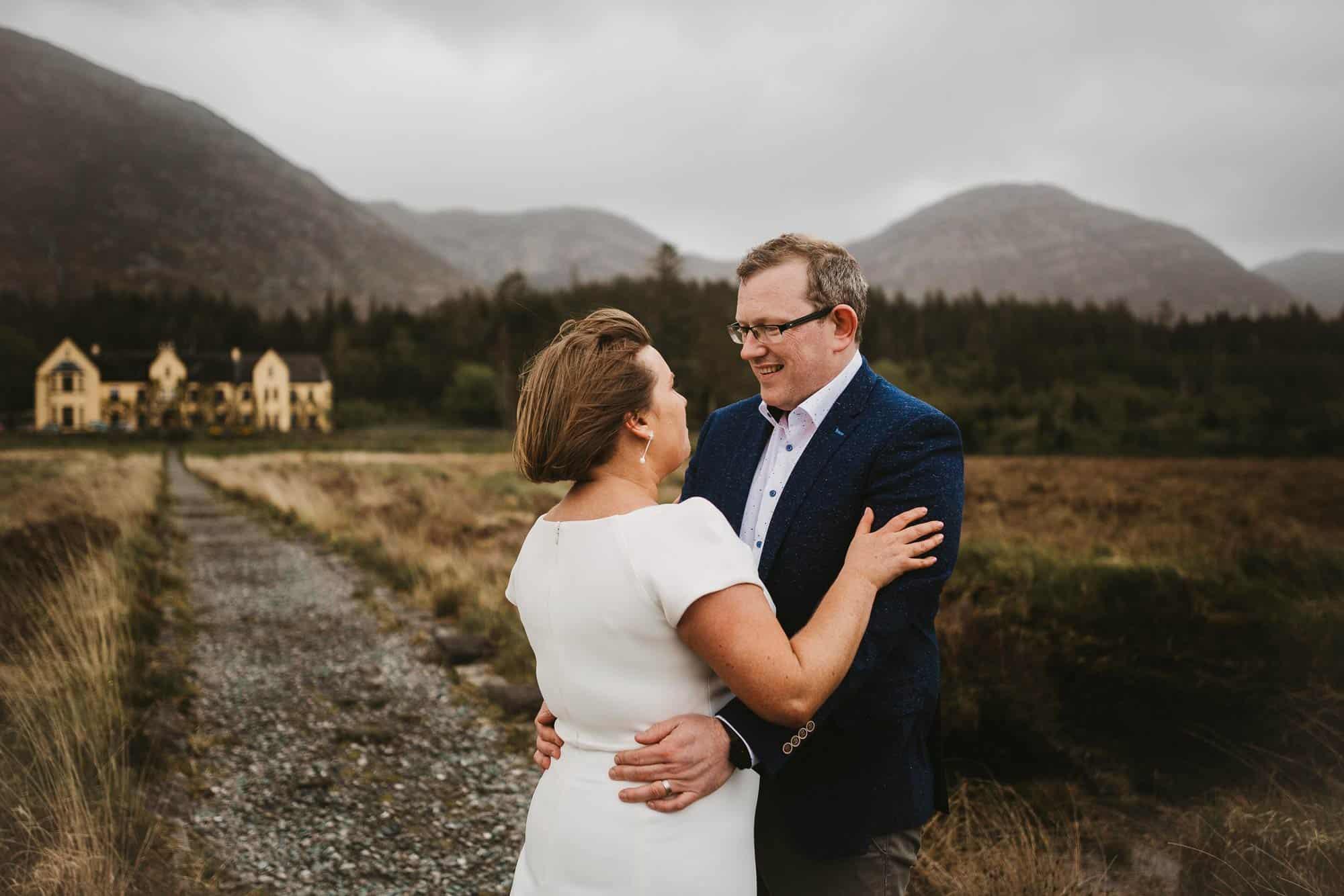 Planning for Elopements in Ireland Adventure Couple