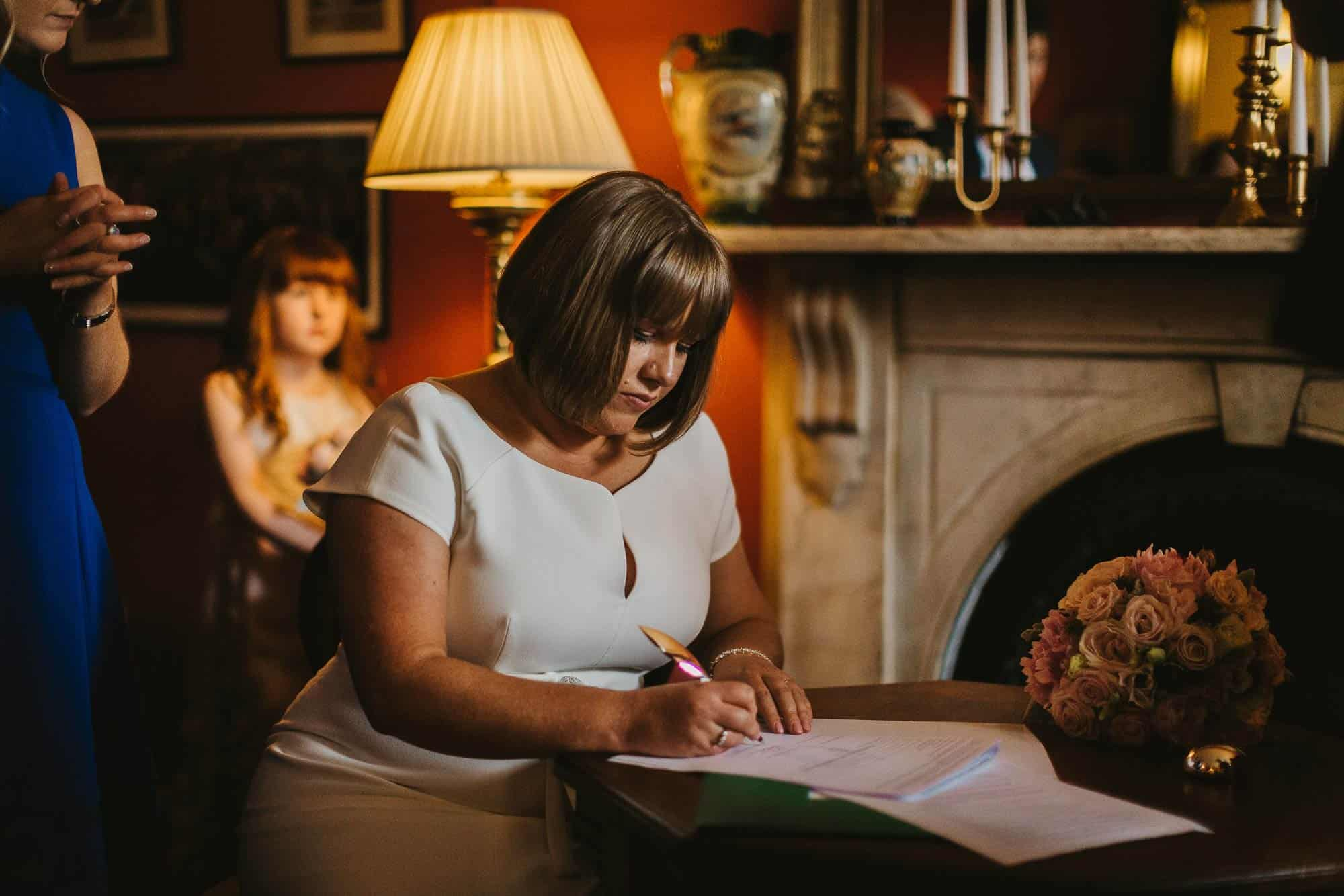 Planning for Elopements in Ireland Signing
