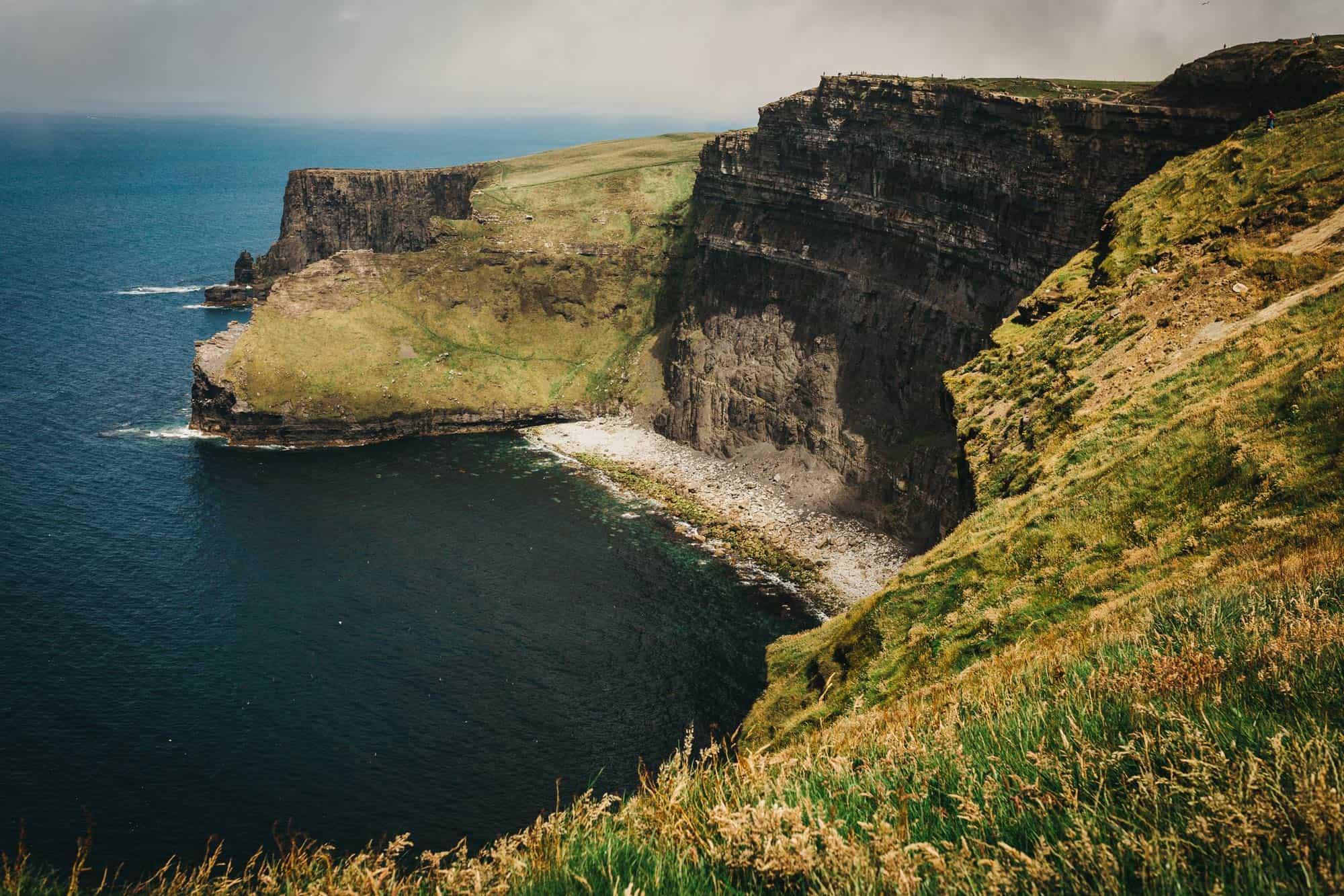 Proposal shoot Ireland Cliff edge