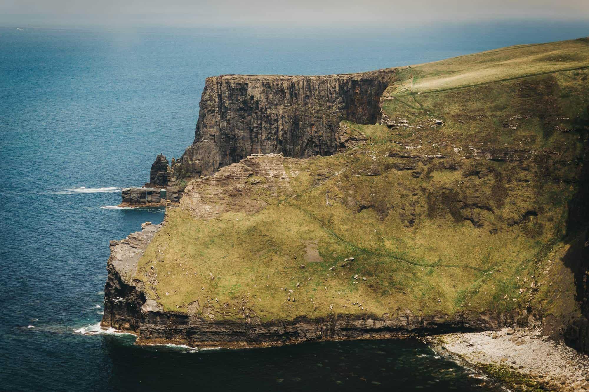 Proposal shoot Ireland Cliff slope