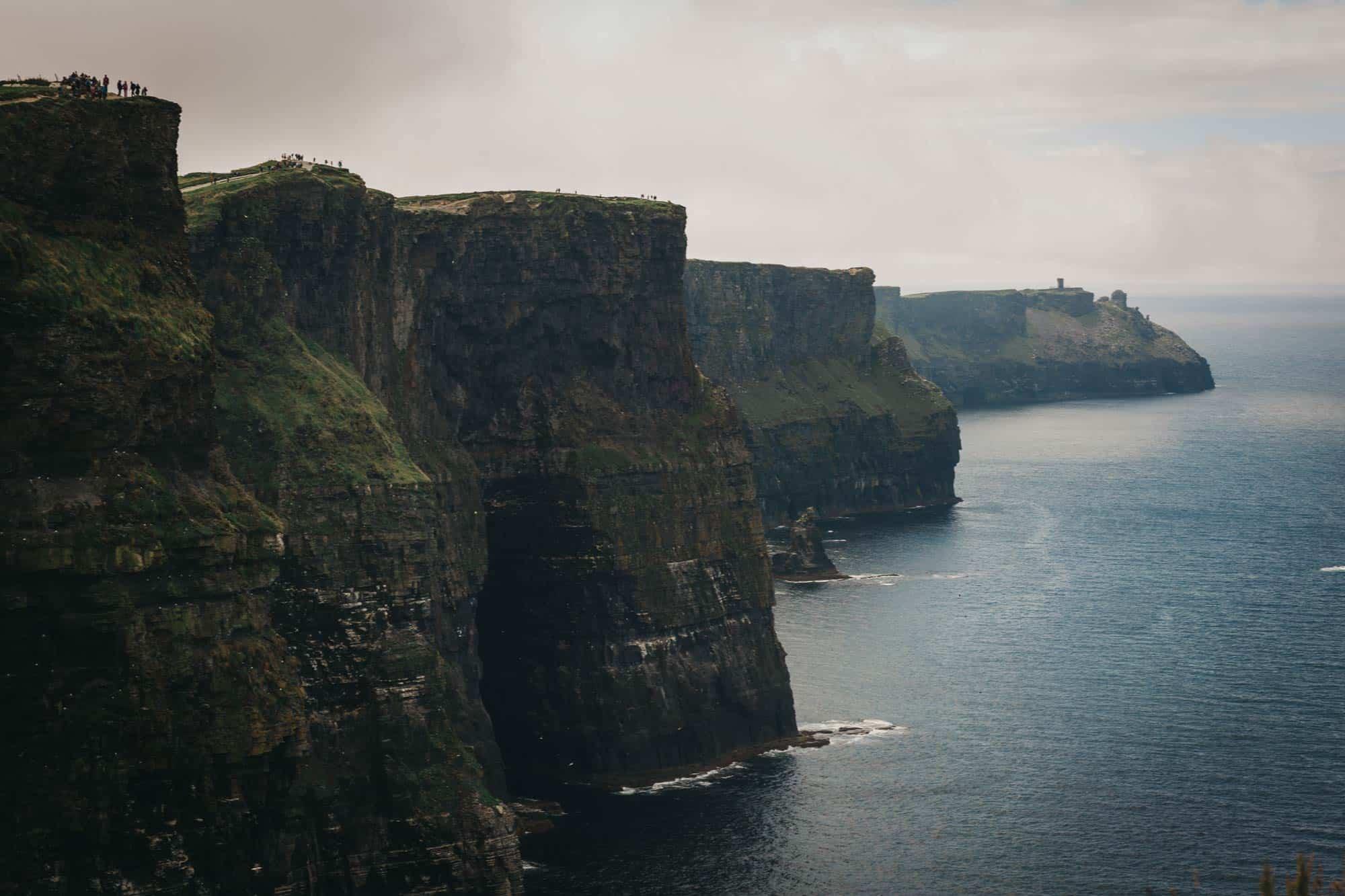 Proposal shoot Ireland Cliffs from lower