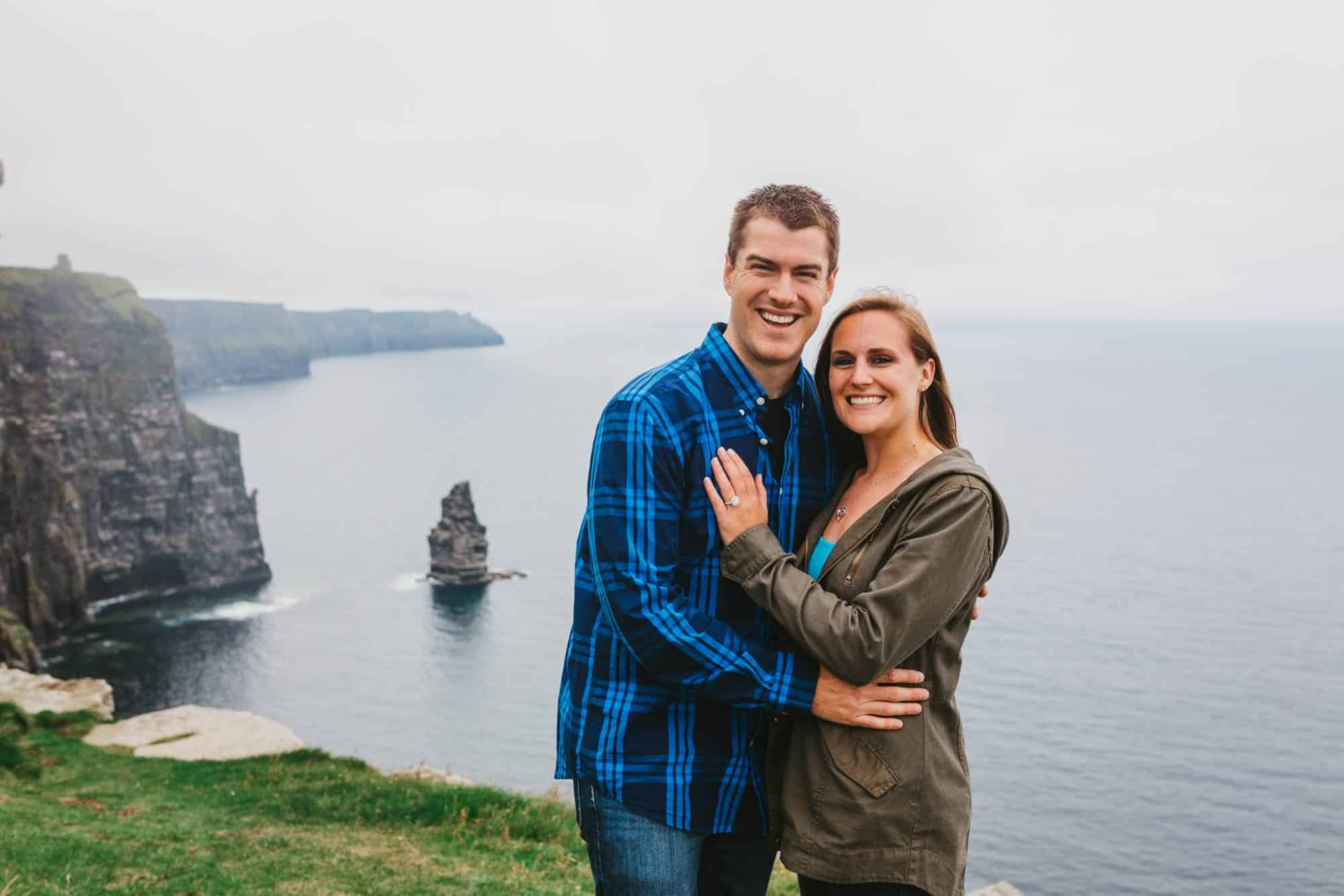 Proposal shoot Ireland The Happy Couple