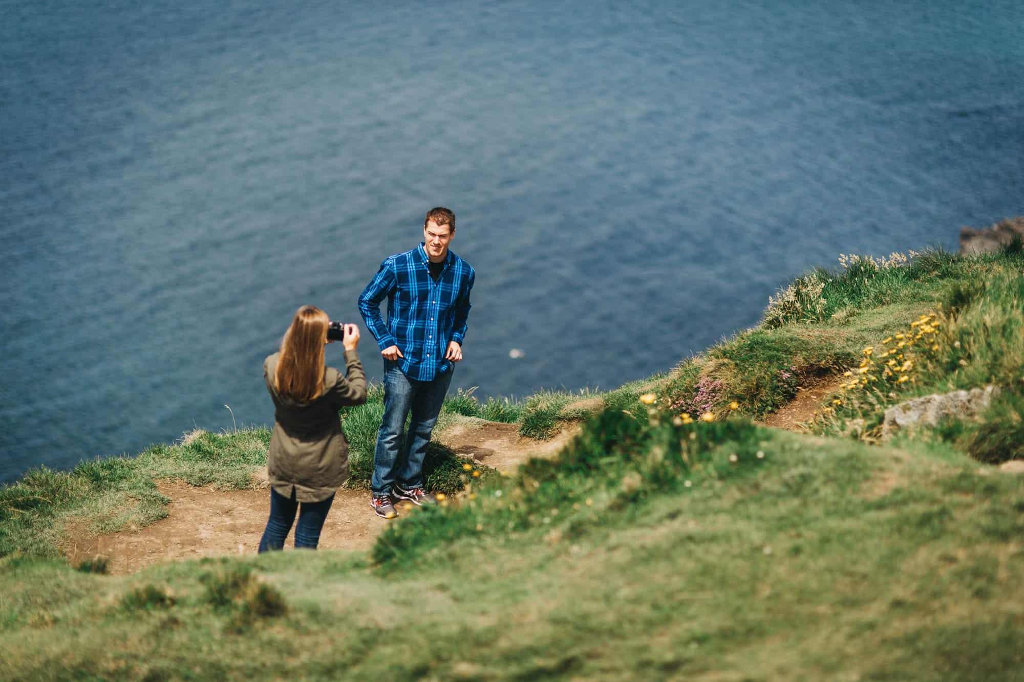 Proposal shoot Ireland creating memories