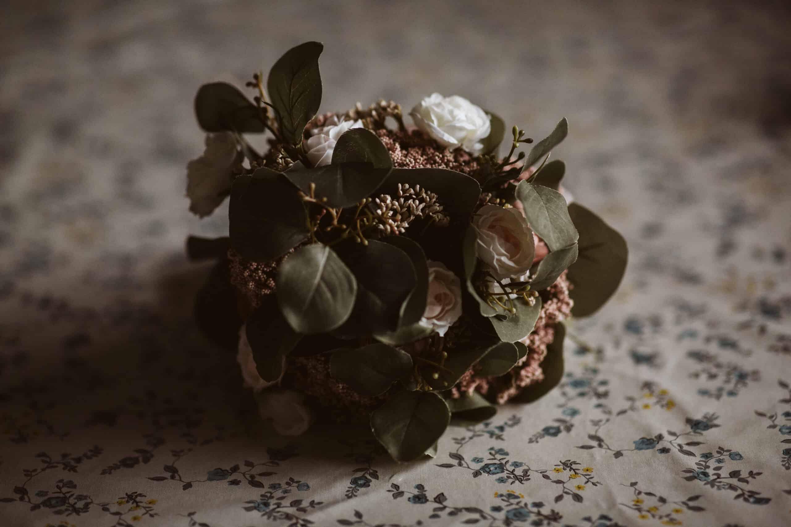 Cliffs of Moher Wedding Hags head, bridal bouquet