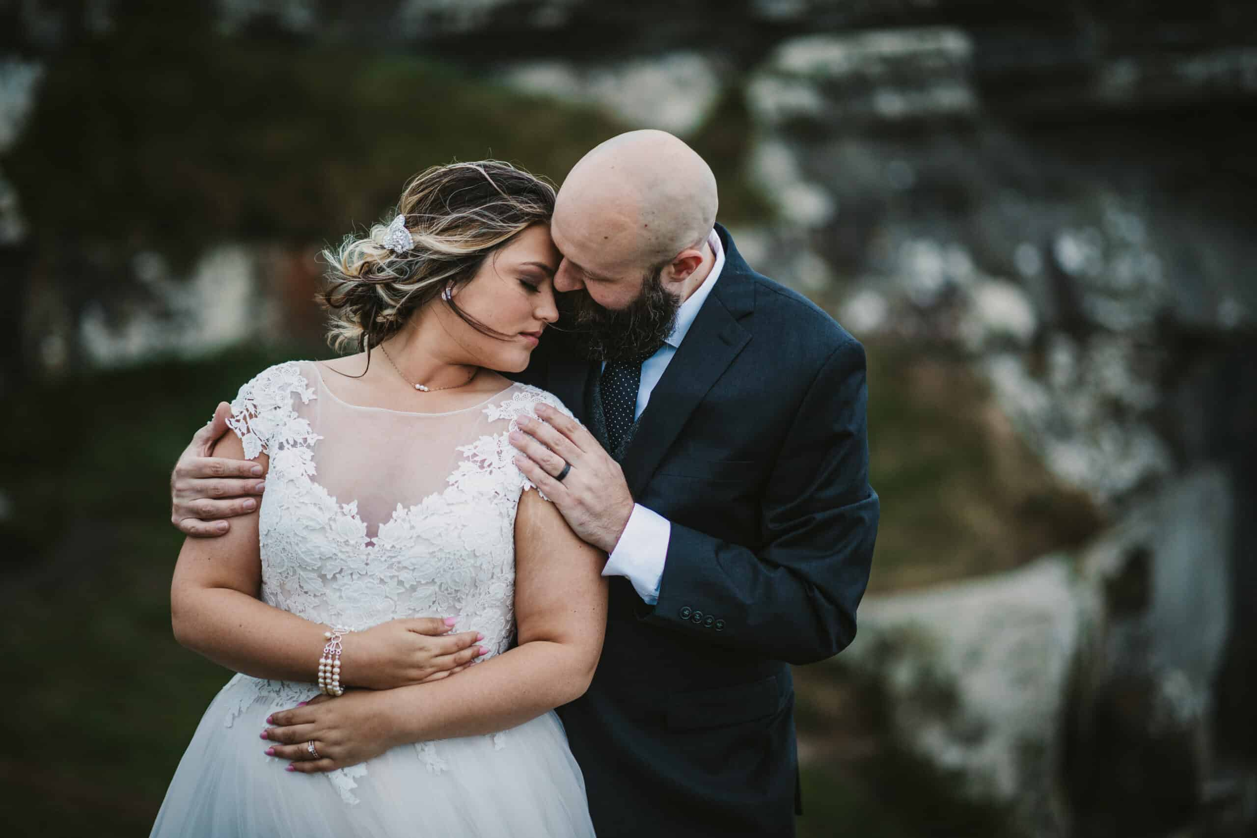 Cliffs of Moher Wedding Hags head, groom holds bride
