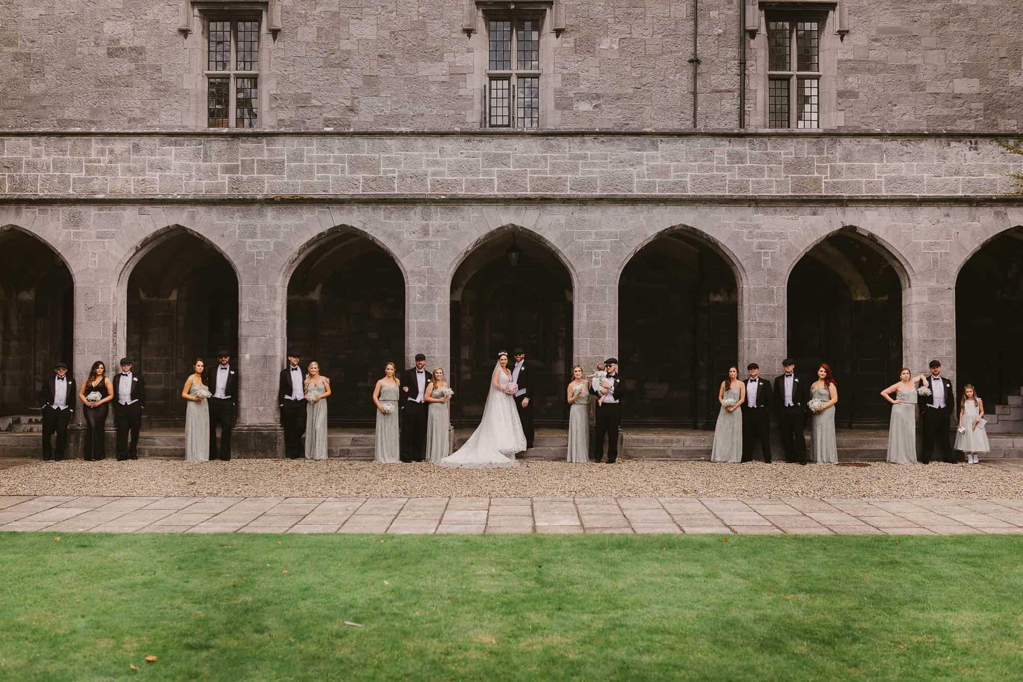 Wedding photography Ireland Bridal Party